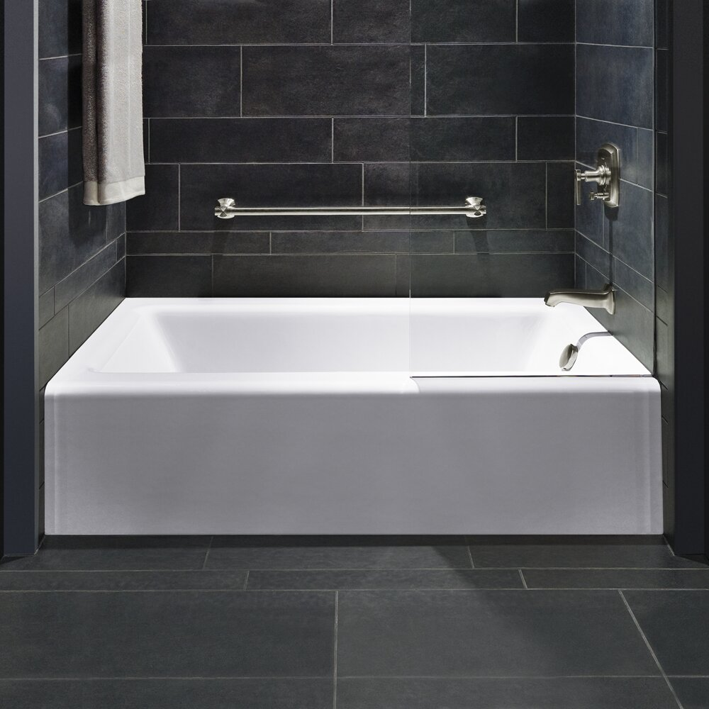 kohler bellwether 60 x 32 soaking bathtub reviews wayfair