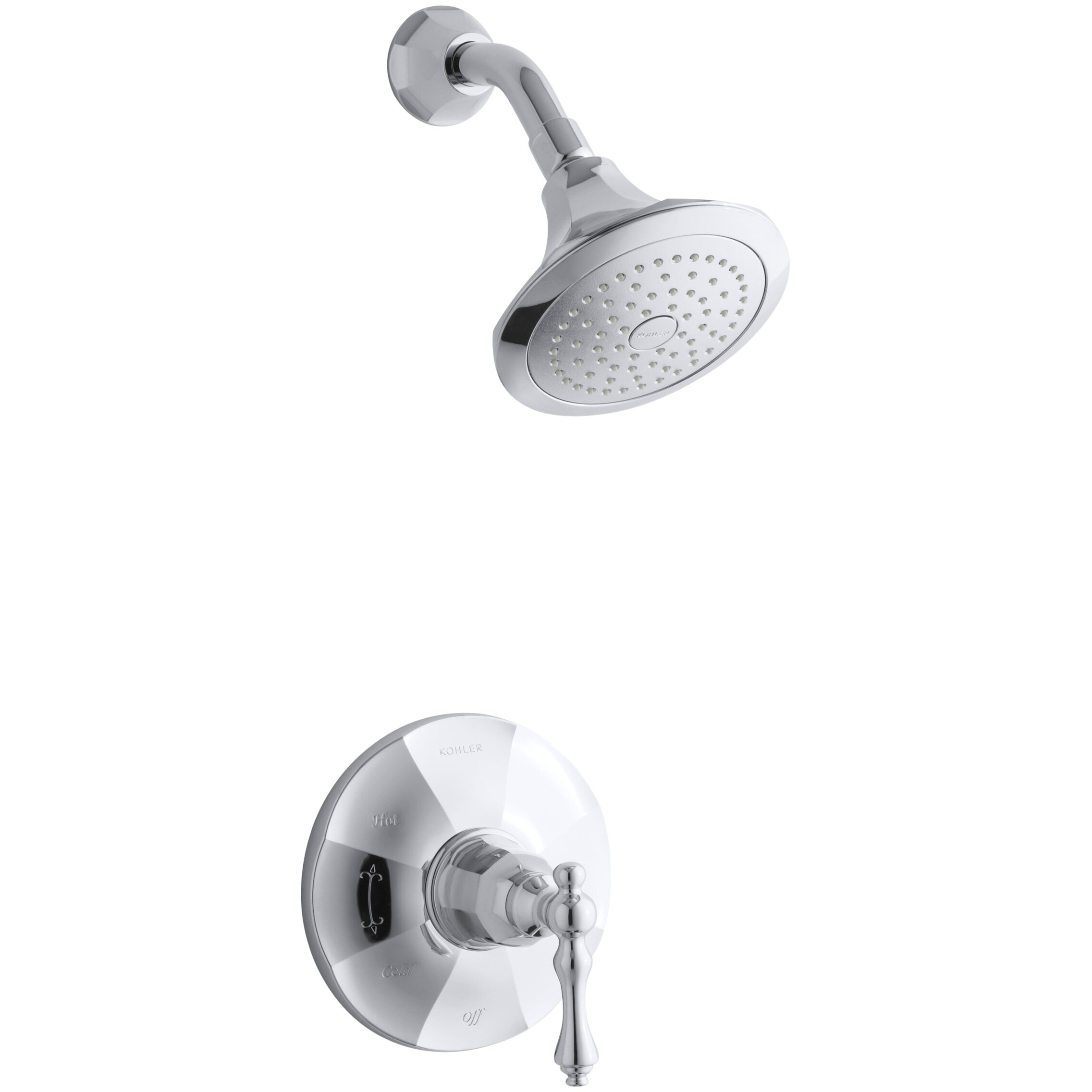 Kohler Kelston Rite-Temp Shower Faucet Trim & Reviews | Wayfair - Kohler Kelston Rite-Temp Shower Faucet Trim