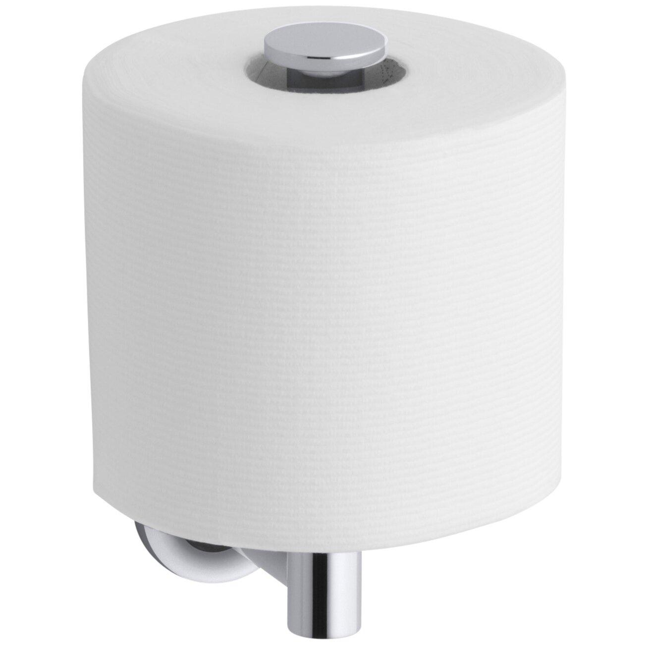 Kohler Purist Vertical Toilet Tissue Holder. Kohler Purist Vertical Toilet Tissue Holder   Reviews   Wayfair