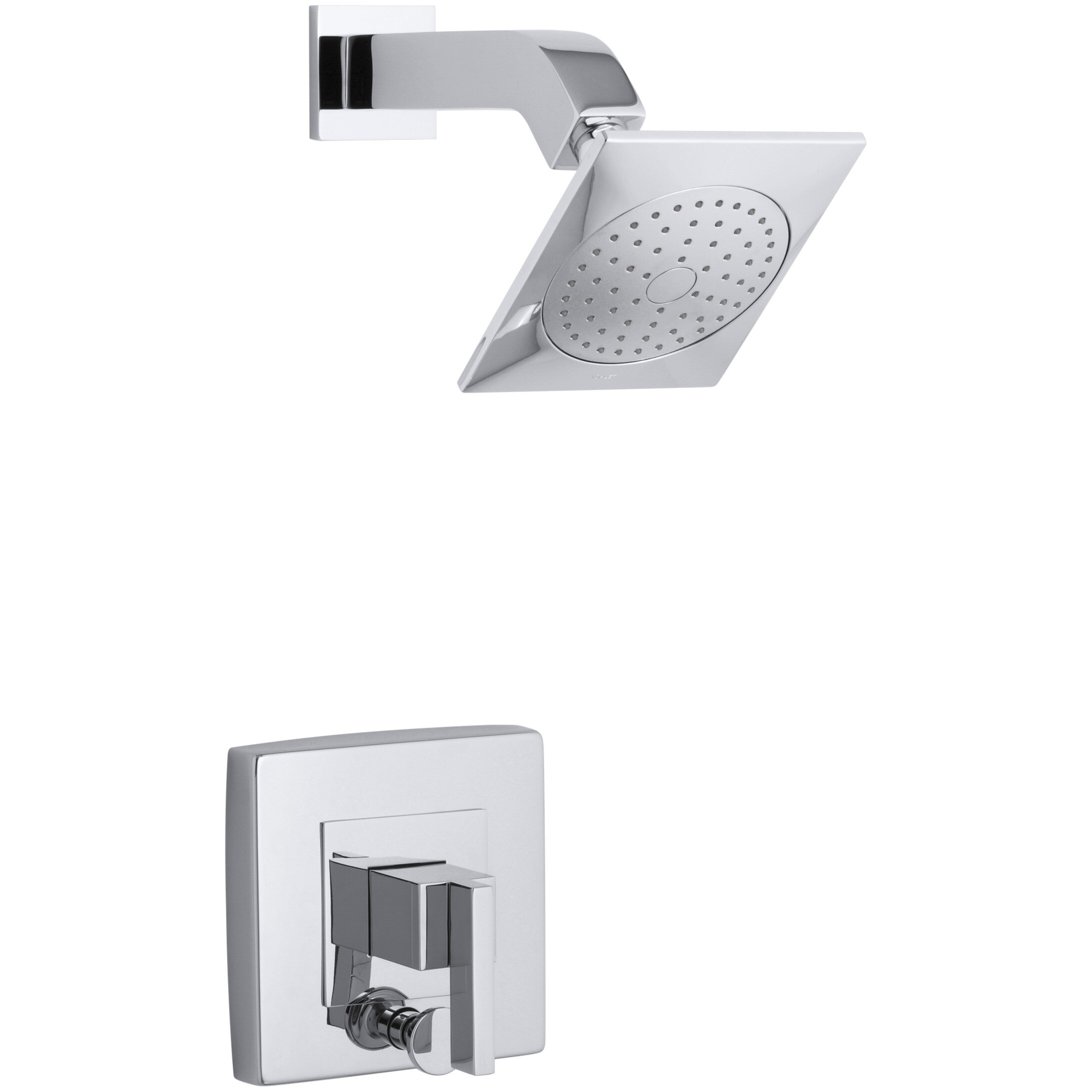 Kohler Loure Rite-Temp Shower Trim with Diverter & Reviews | Wayfair - Kohler Loure Rite-Temp Shower Trim with Diverter