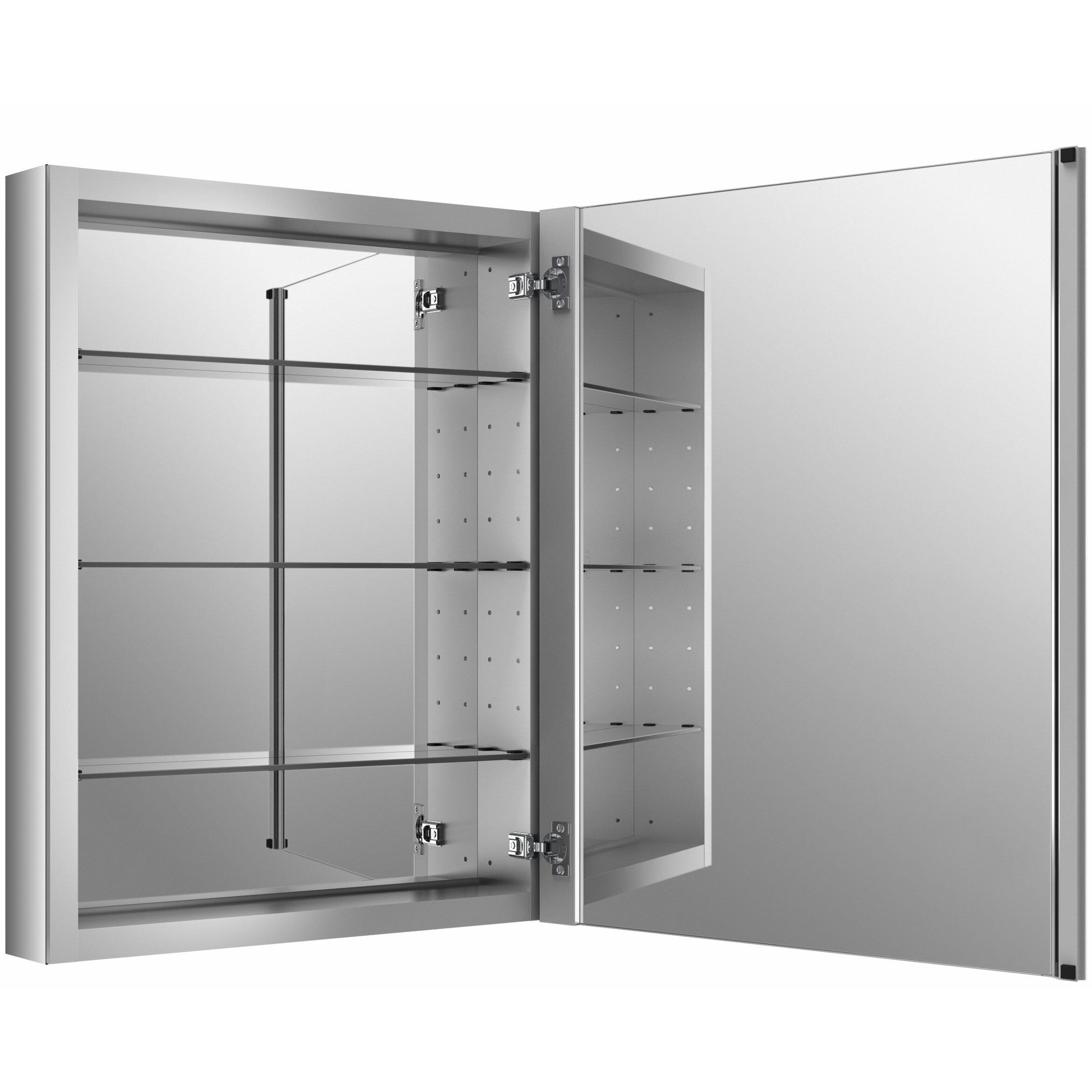30 X 30 Medicine Cabinet Kohler Verdera 24 W X 30 H Aluminum Medicine Cabinet Reviews
