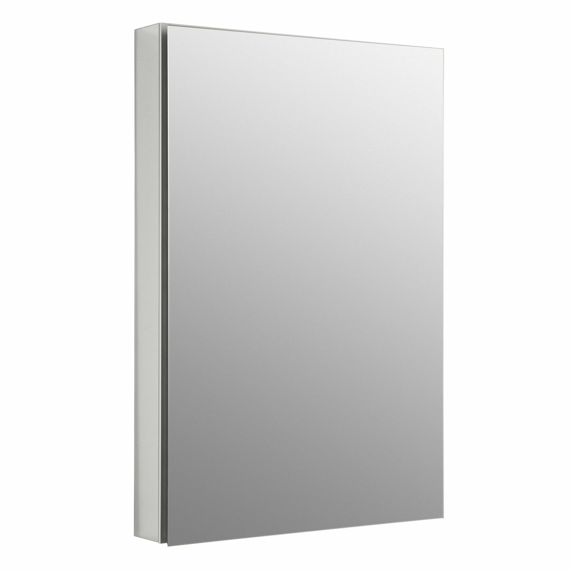 24 X 36 Medicine Cabinet Kohler Catalan 23375 W X 3525 H Aluminum Single Door Medicine