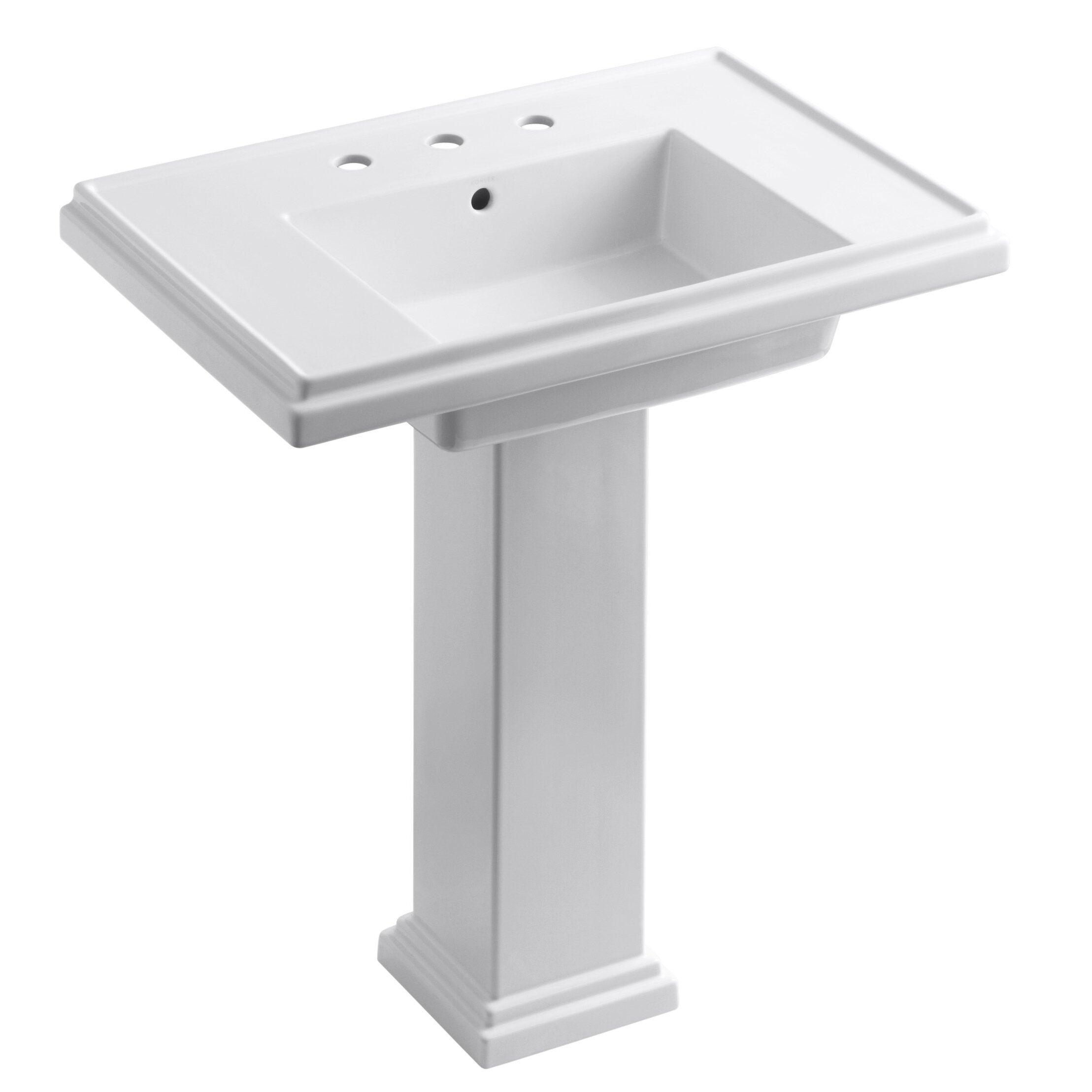 Kohler Tresham 30 quot  Pedestal Bathroom Sink. Kohler Tresham 30  Pedestal Bathroom Sink   Reviews   Wayfair