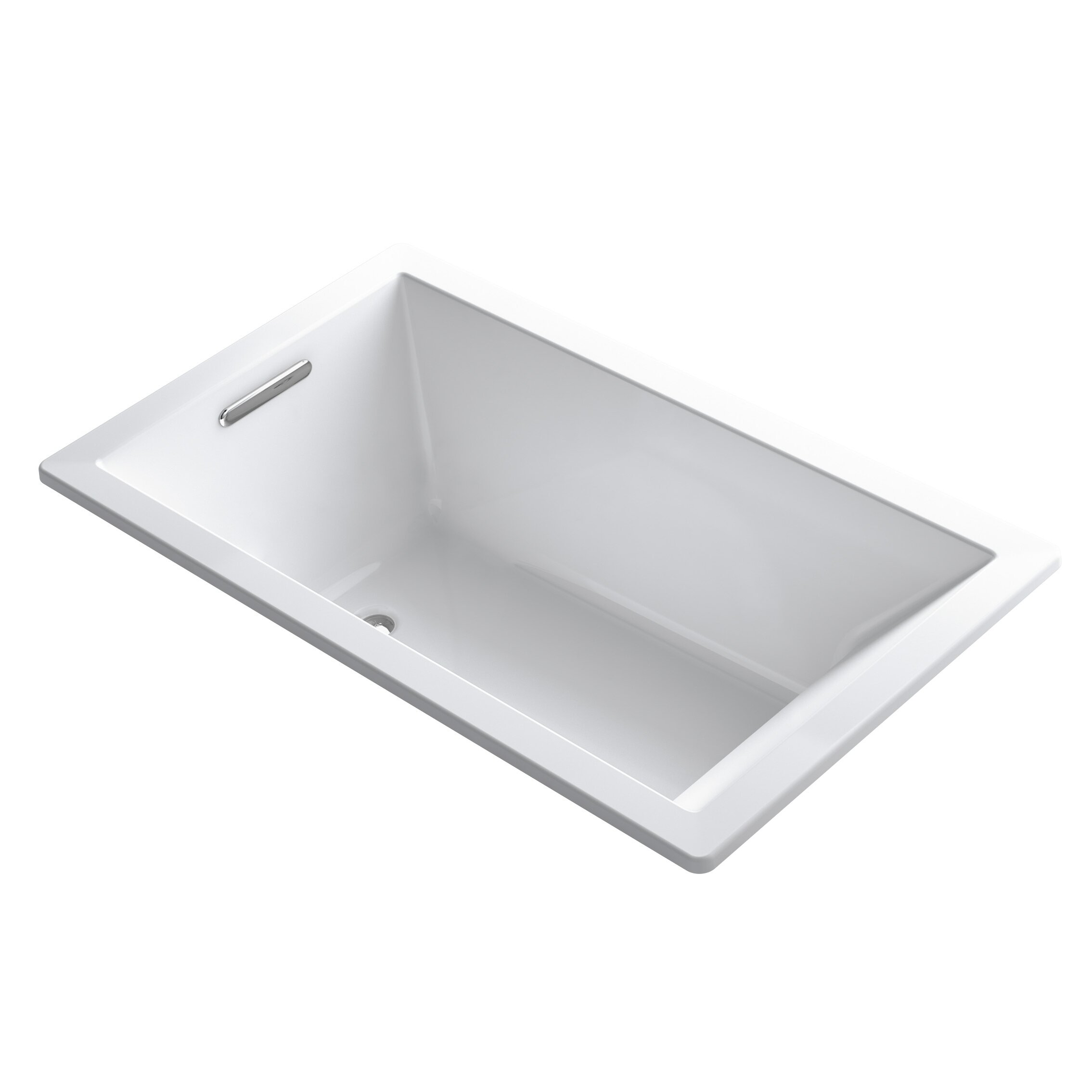 kohler underscore 60 x 36 soaking bathtub reviews wayfair