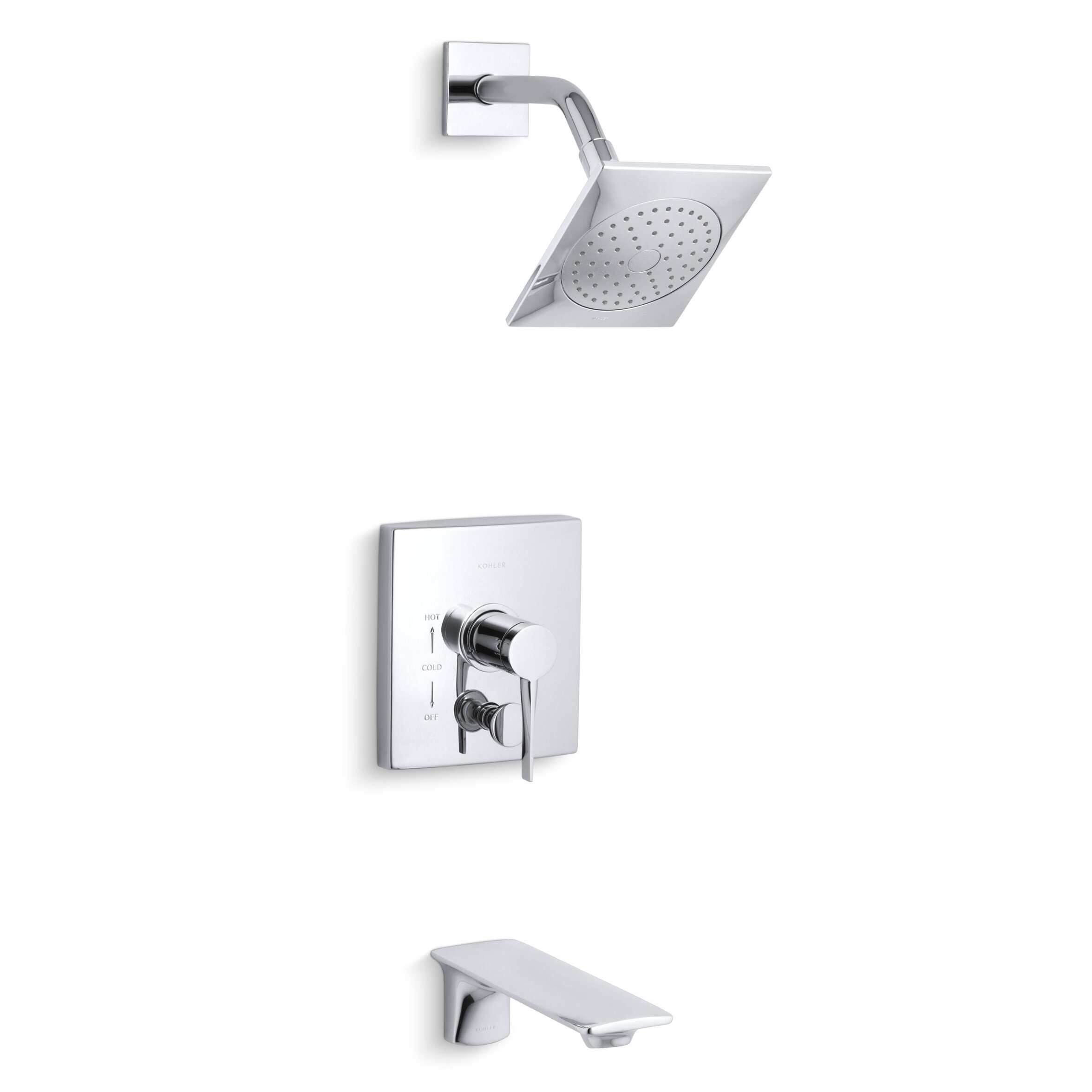 Kohler Stance Rite-Temp Bath/Shower Trim & Reviews | Wayfair - Kohler Stance Rite-Temp Bath/Shower Trim