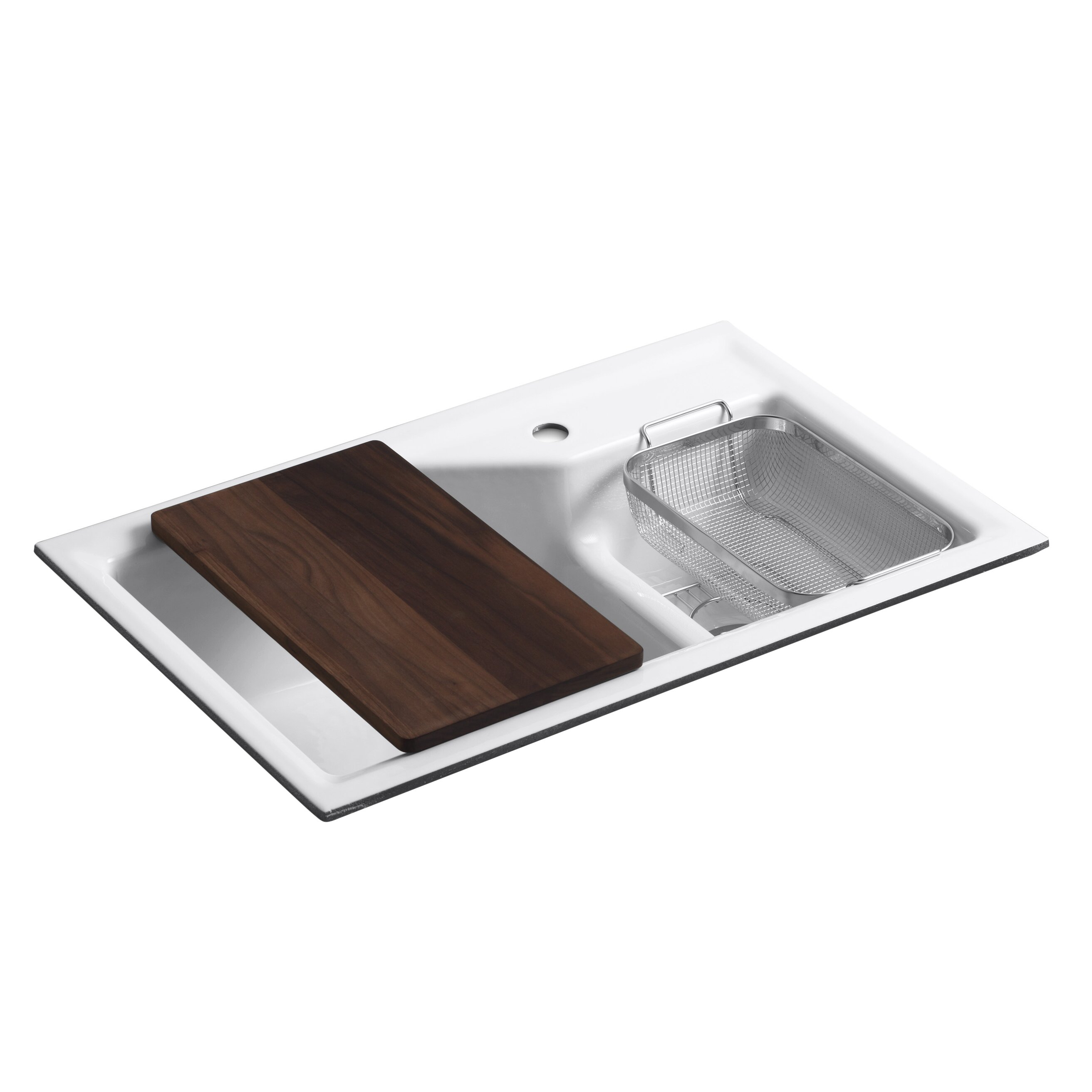 Small Double Kitchen Sinks Kohler Indio 33 X 21 1 8 X 9 3 4 Under Mount Smart Divide Large