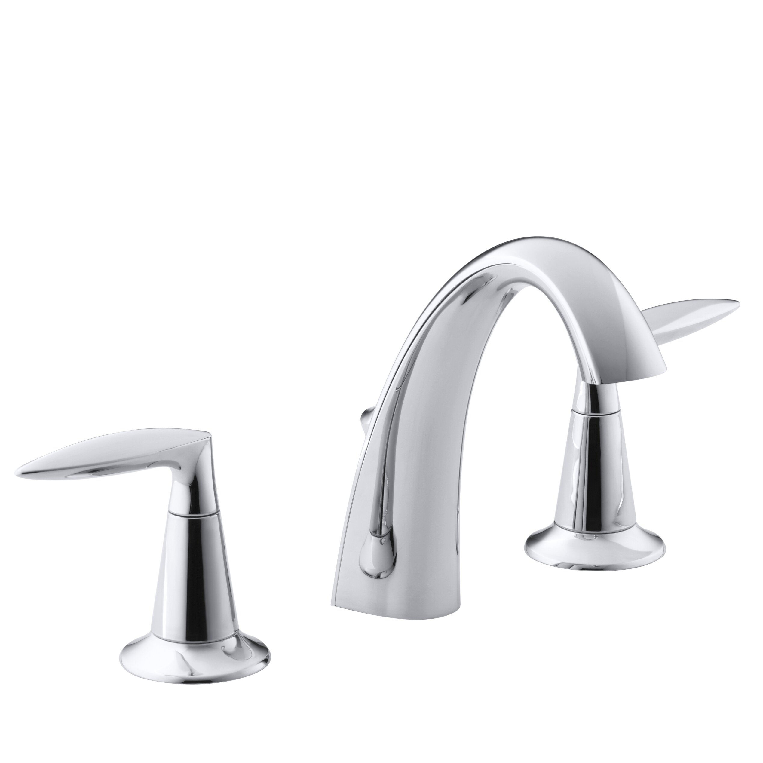 Bathroom Sink Faucets: Kohler Alteo Widespread Bathroom Sink Faucet & Reviews