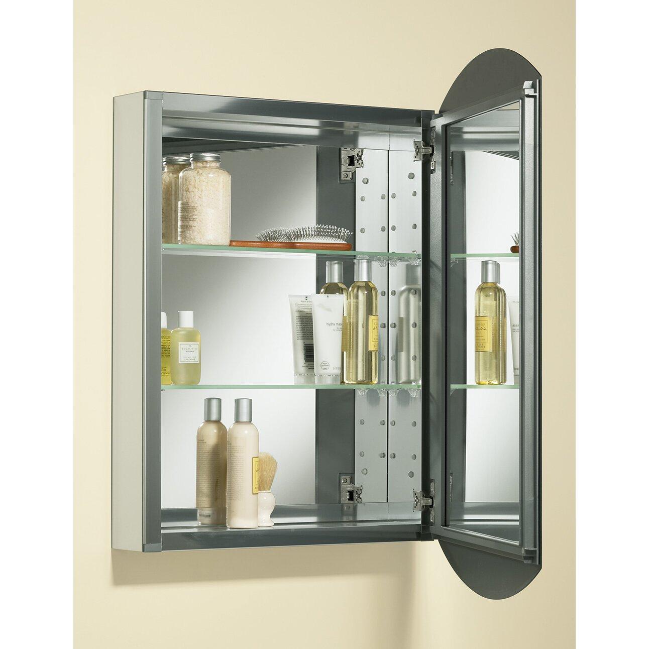 Kohler Bathroom Mirror Kohler Archer 20 X 31 Aluminum Wall Mount Medicine Cabinet With