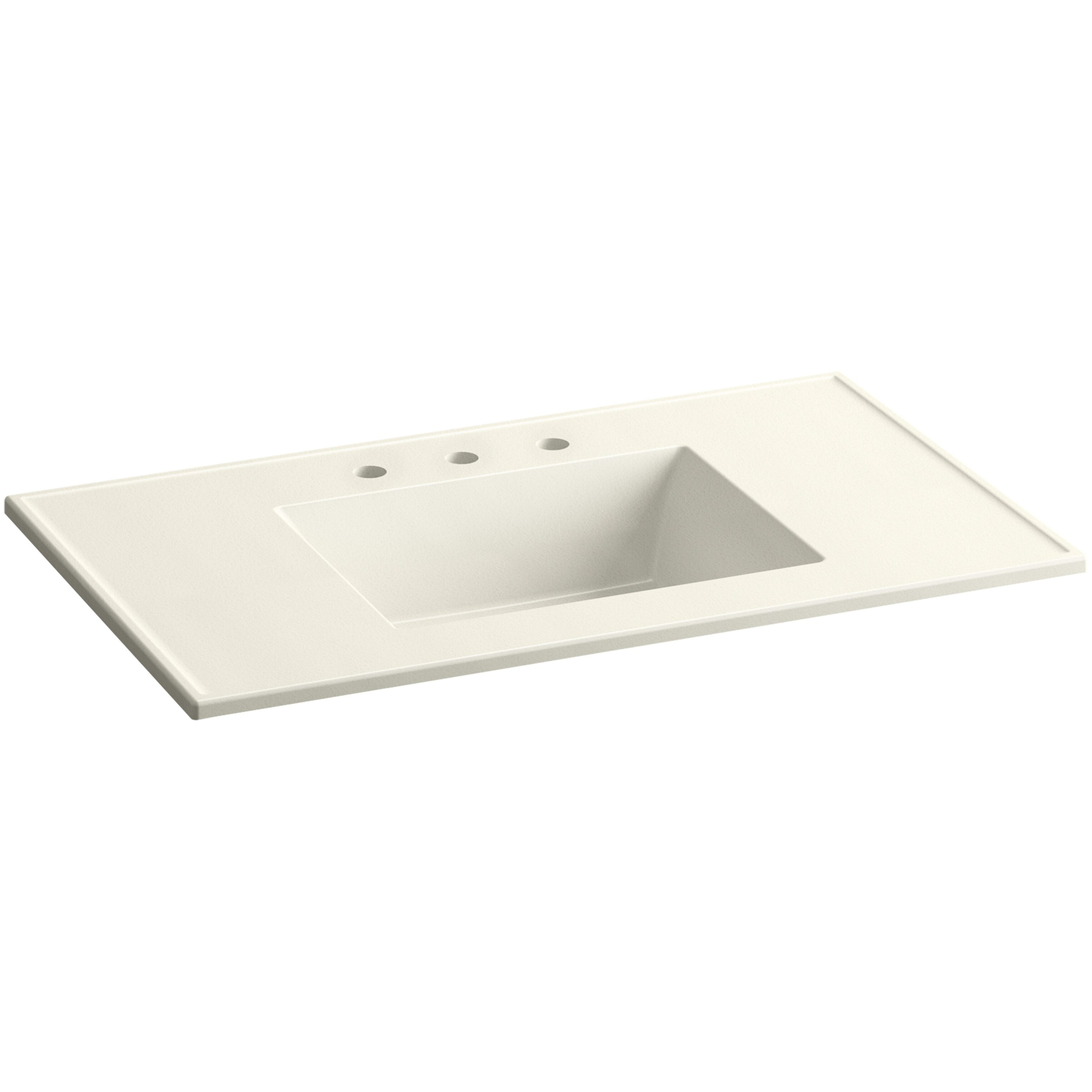 Kohler Ceramic Impressions 37 quot Rectangular Vanity Top Bathroom Sink   Kohler Ceramic Impressions 37 Rectangular. Kohler Vanity Sinks  universalcouncil info