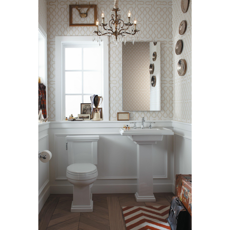 Kohler Tresham 30 Pedestal Bathroom Sink Reviews Wayfair .