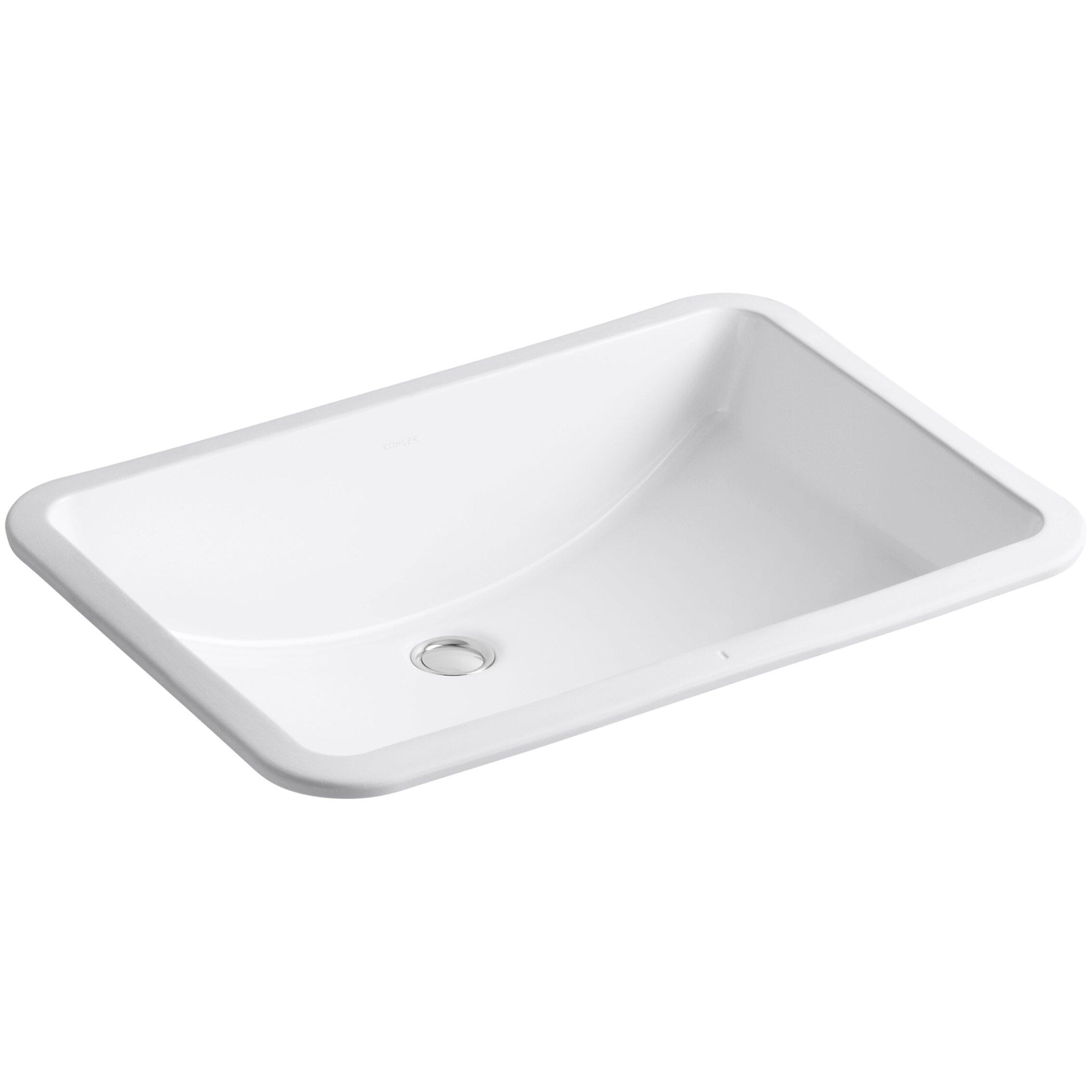 Kohler Ladena Undermount Bathroom Sink. Kohler Ladena Undermount Bathroom Sink   Reviews   Wayfair
