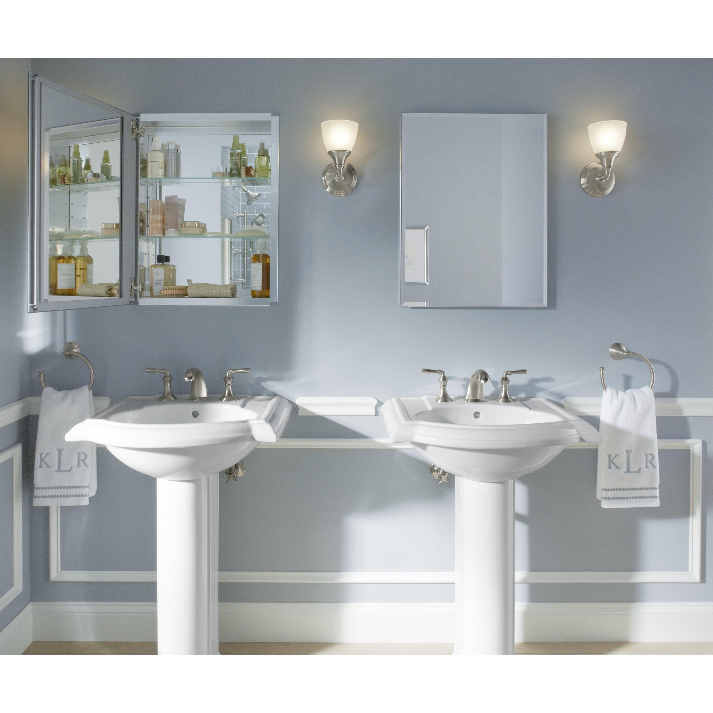 18 X 24 Medicine Cabinet Kohler 20 X 26 Aluminum Medicine Cabinet With Mirrored Door