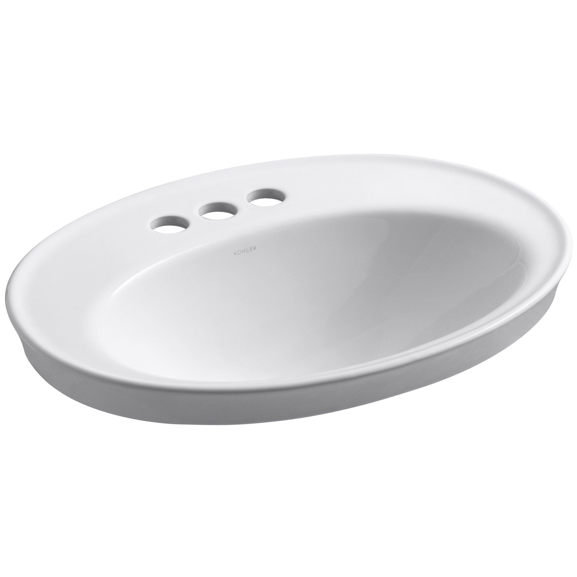 Kohler Drop In Bathroom Sink dact