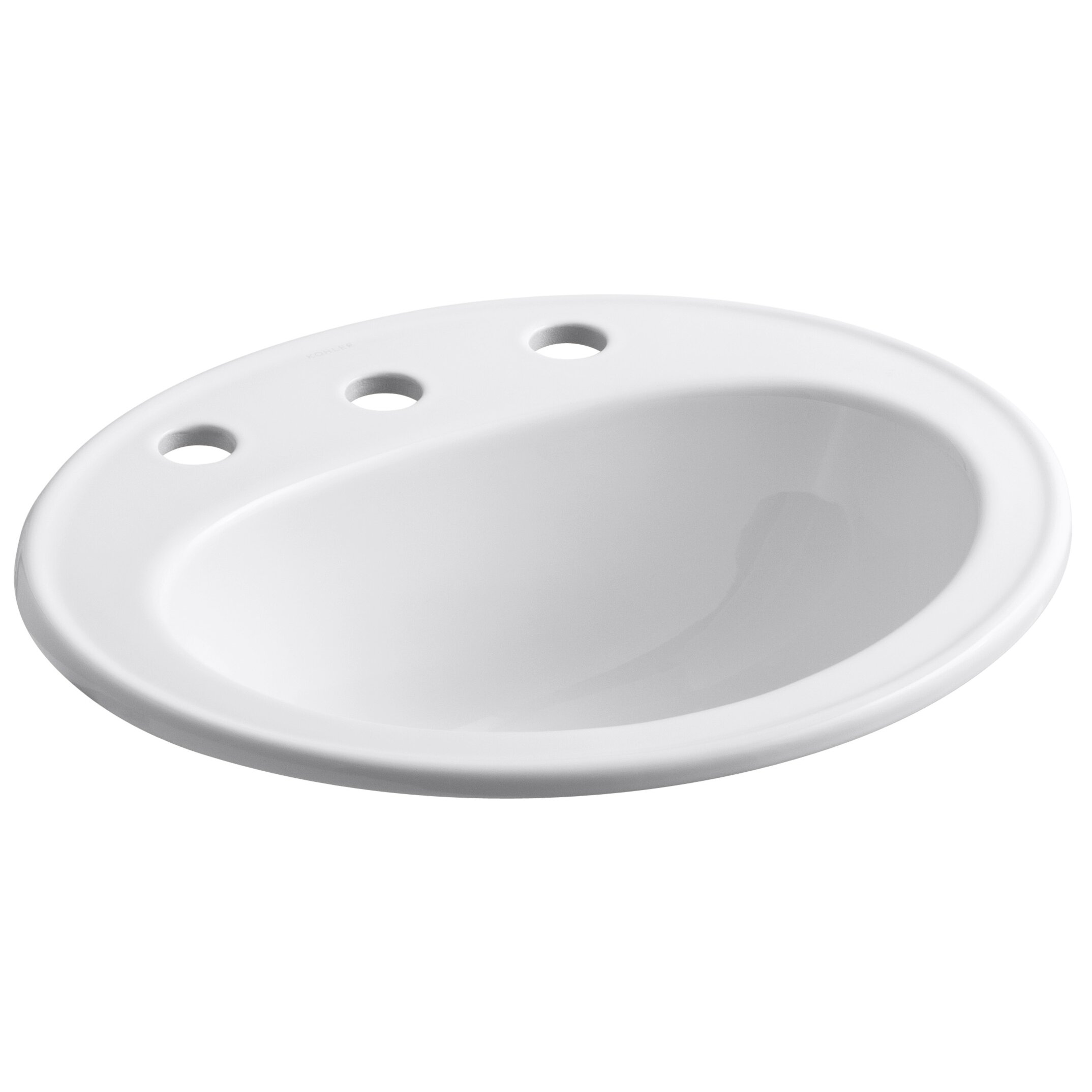 Kohler Pennington Drop-In Bathroom Sink & Reviews Wayfair.ca