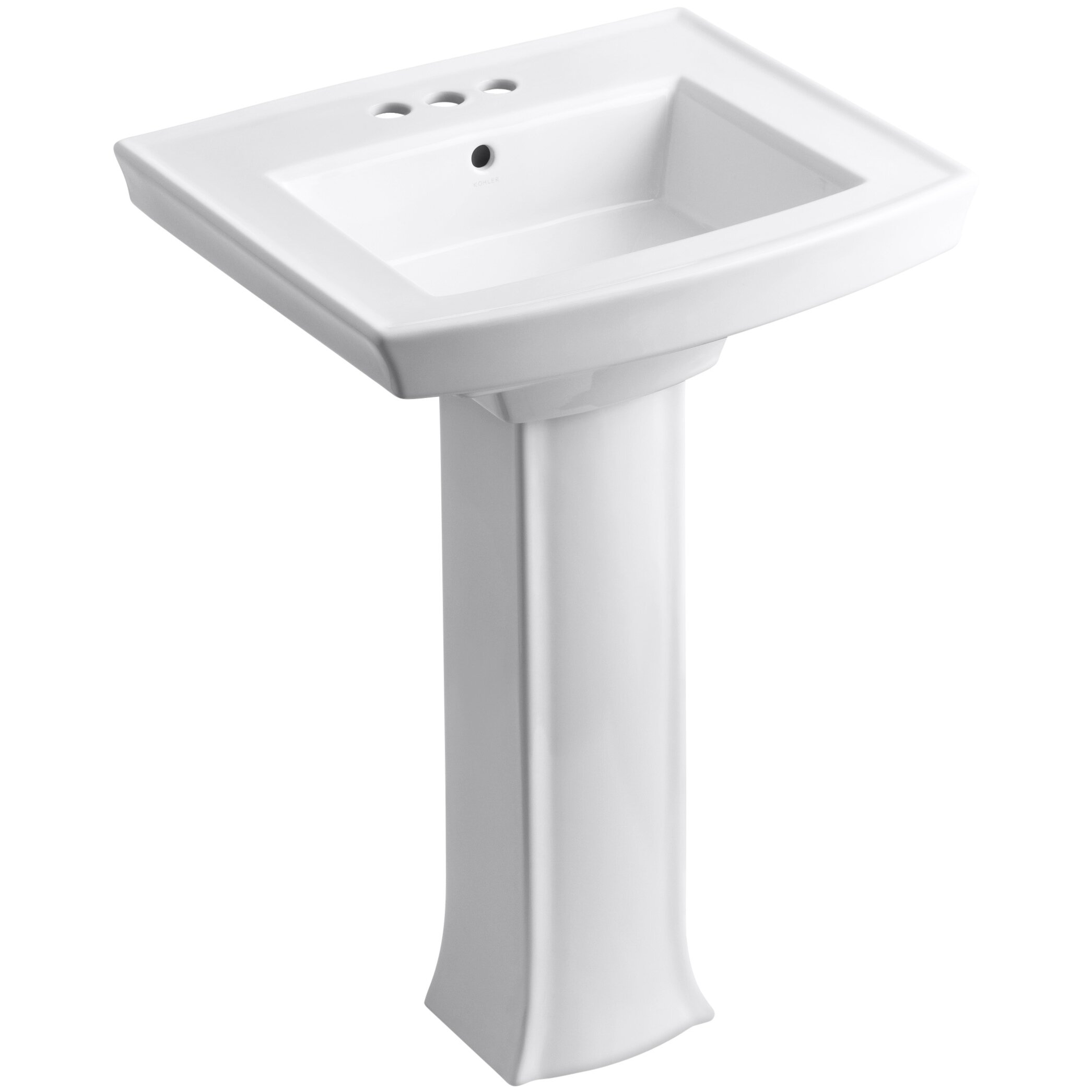 Kohler Archer Pedestal Sink  Kohler Archer Pedestal Sink Reviews Wayfair. Kohler Devonshire Pedestal Sink