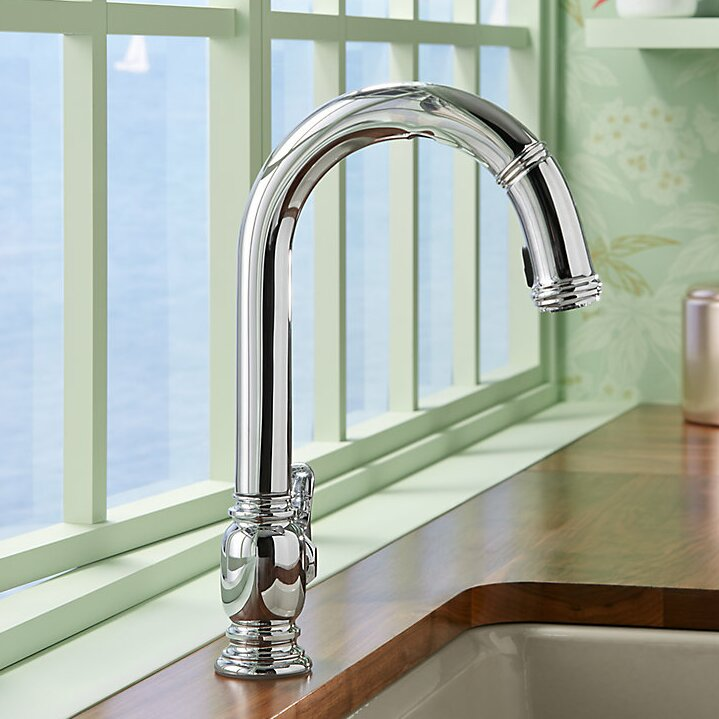 Kohler Beckon (Tm) Touchless Pull-Down Kitchen Sink Faucet