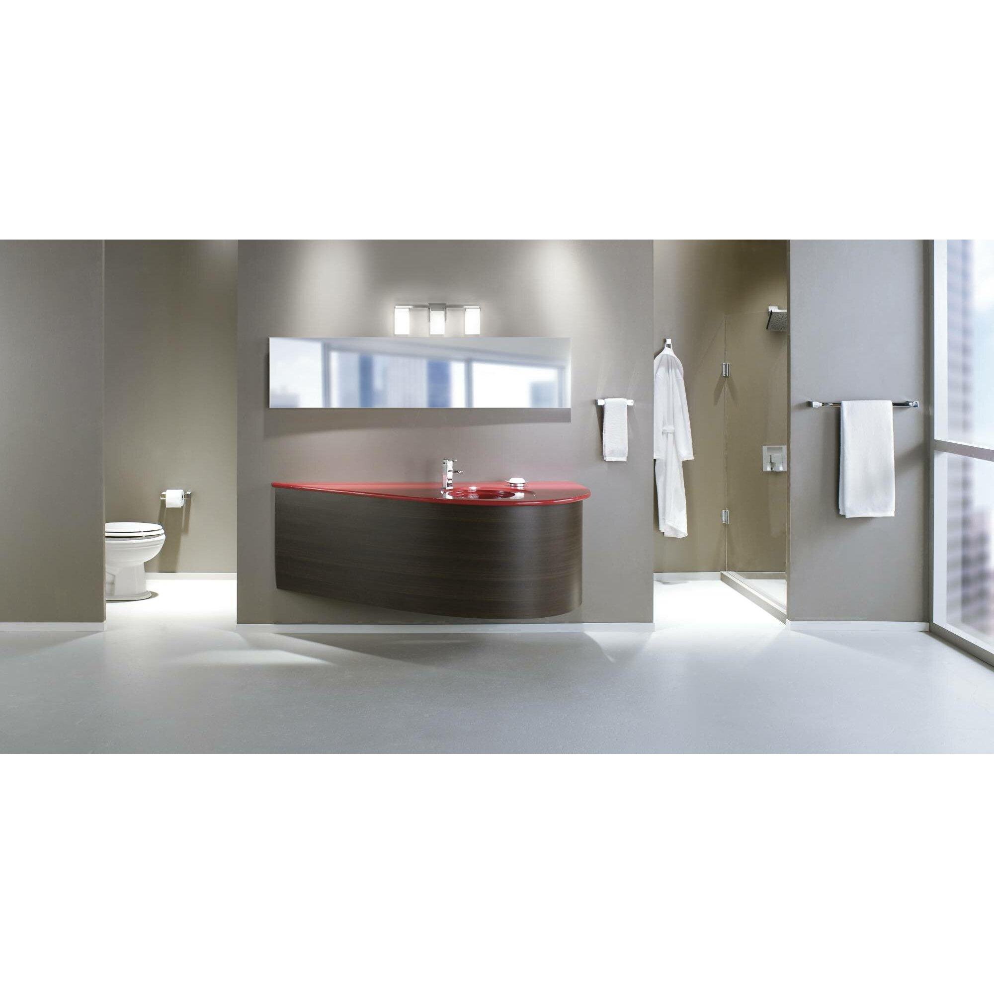 90 Bathroom Vanity Moen 90 Degree 3 Light Vanity Light Reviews Wayfair