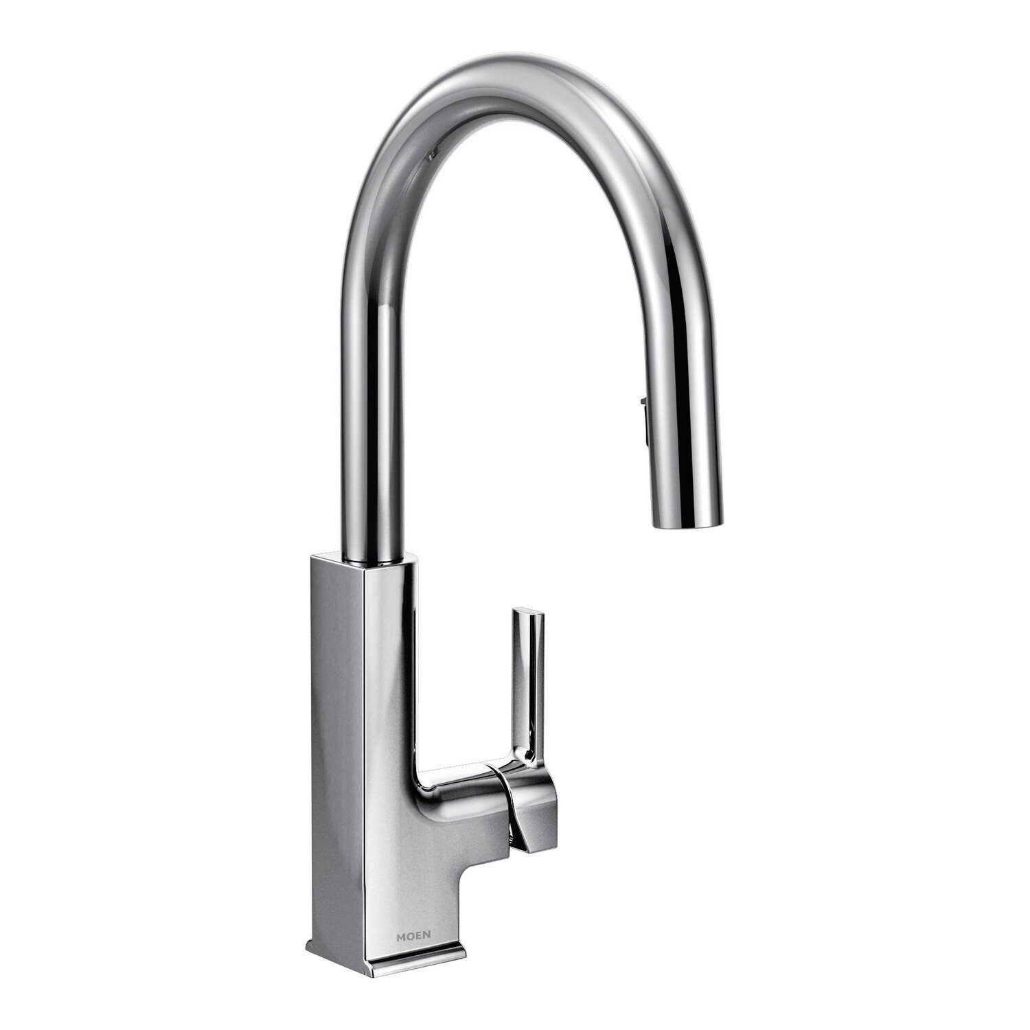 Most Reliable Kitchen Faucets Moen Sto Single Handle Pull Down Kitchen Faucet Reviews Wayfair