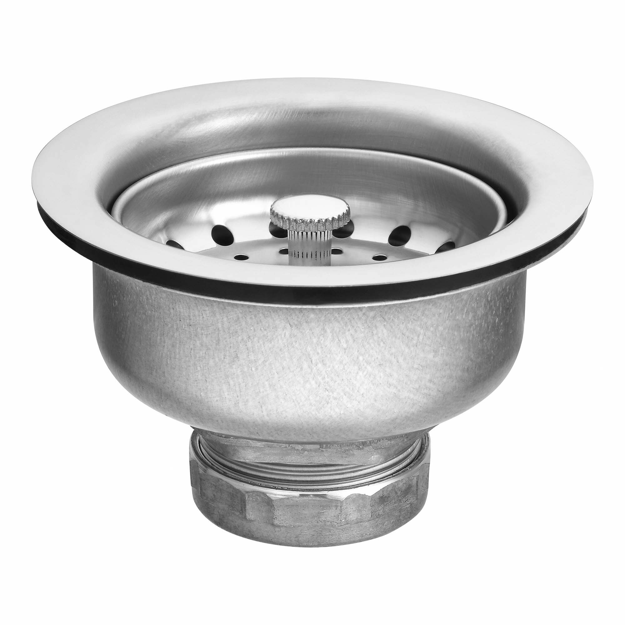 marvelous Kitchen Sink Basket Replacement #5: Drop-in Basket Strainer with Drain and Lock Nut