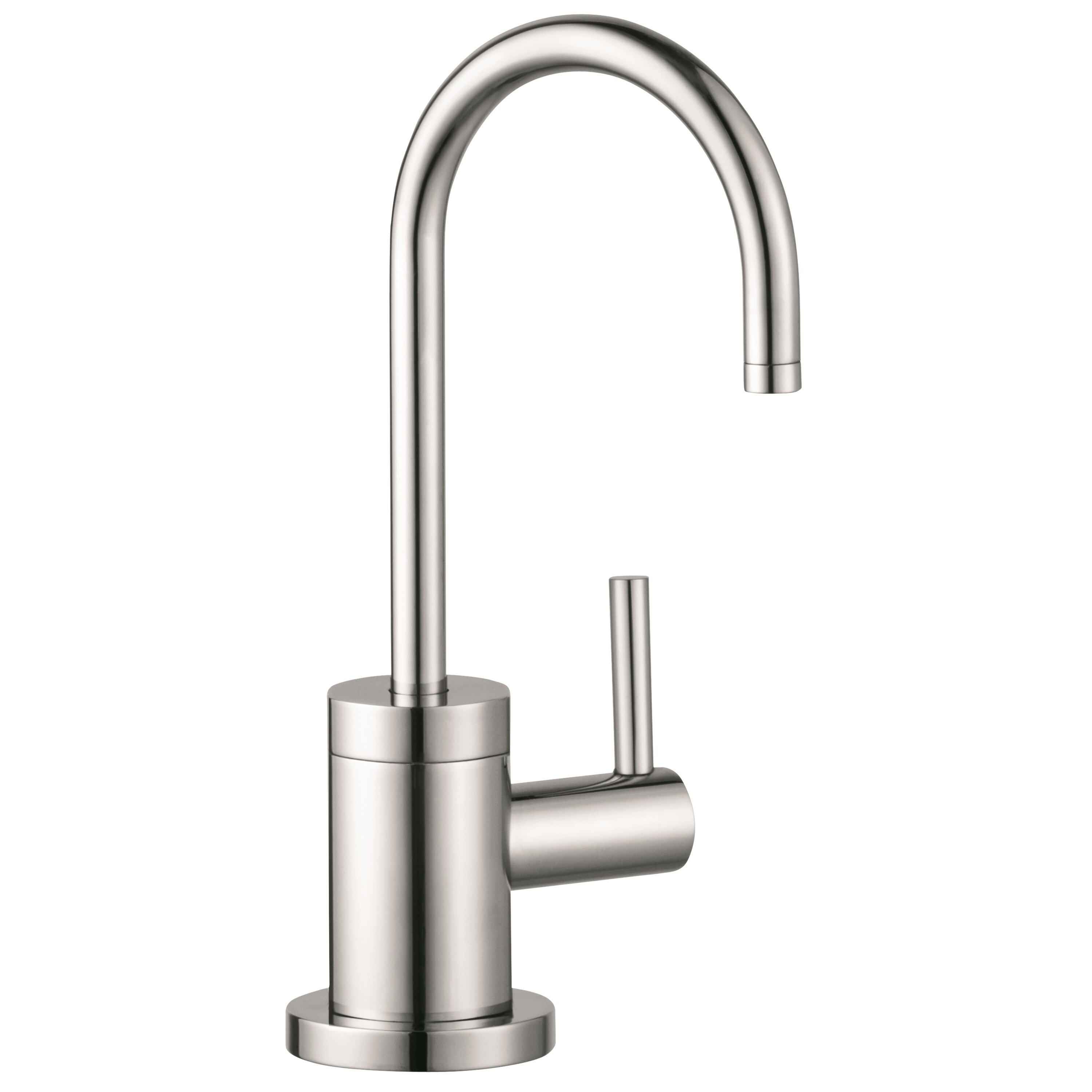 hansgrohe talis s one handle deck mounted cold water hansgrohe 14877001 talis s 2 spray higharc kitchen faucet