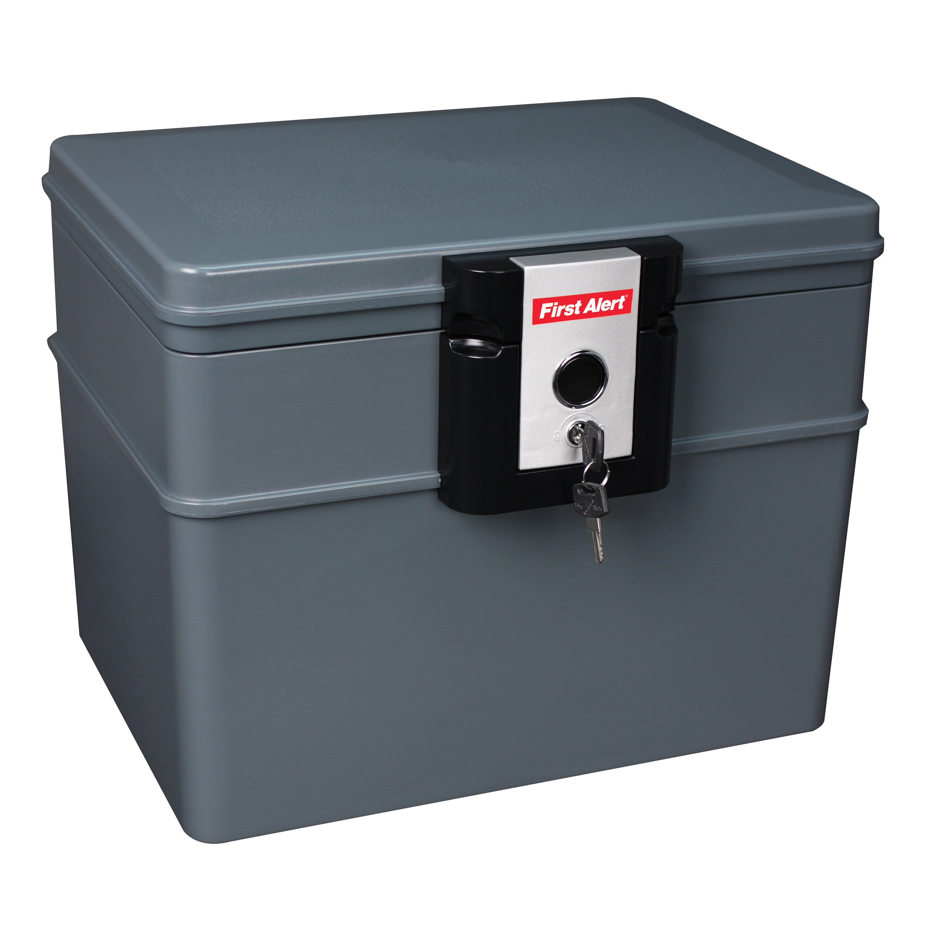 First Alert Waterproof Fireproof File Safe With Key Lock