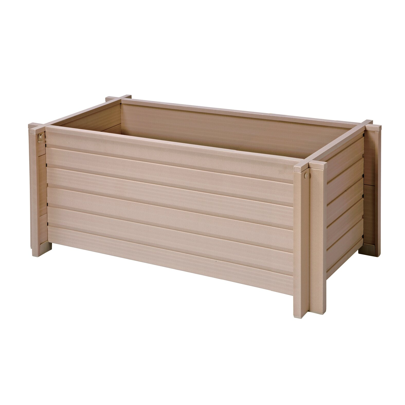 New Age Garden Plastic Planter Box Reviews Wayfair