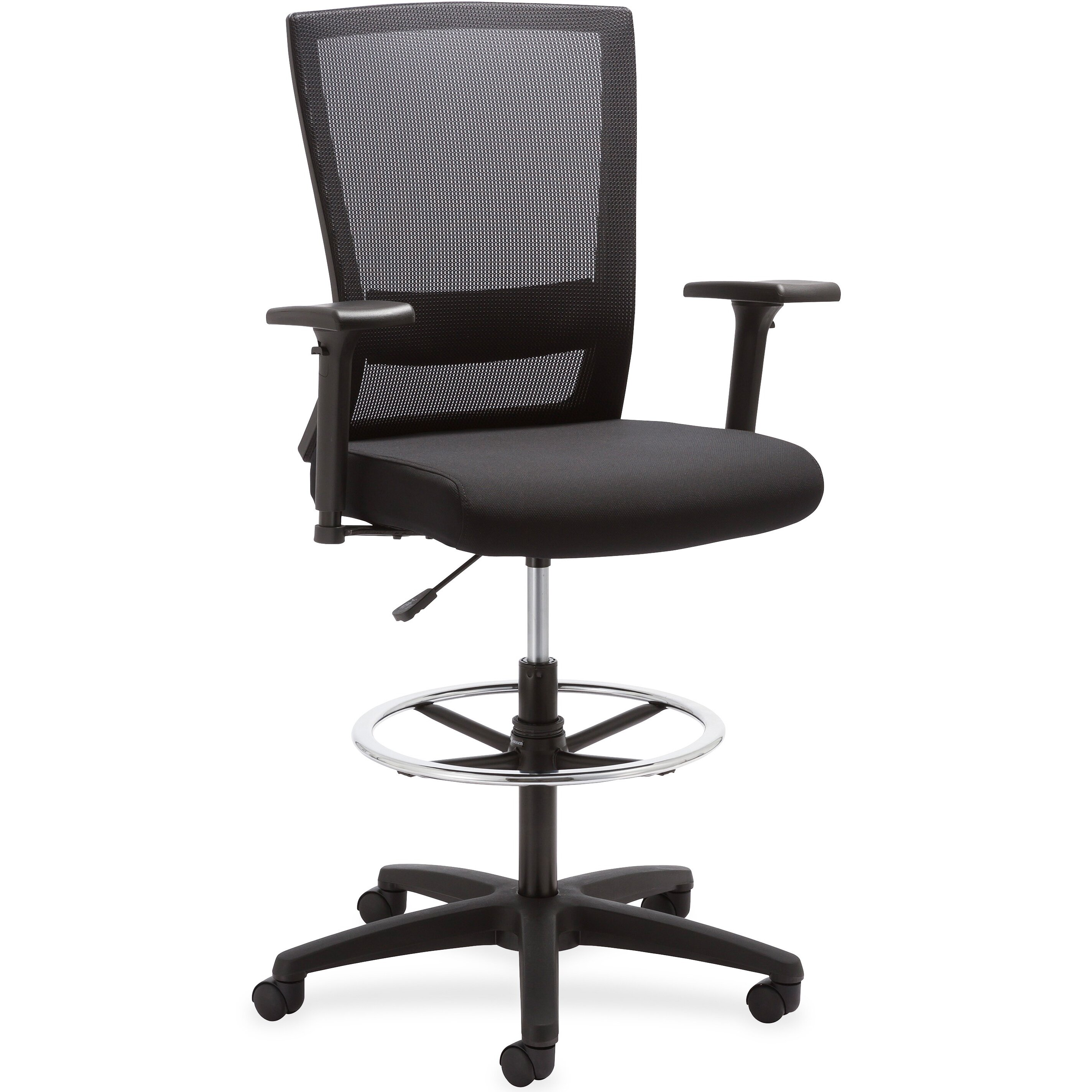 Lorell Mid Back Mesh Desk Chair