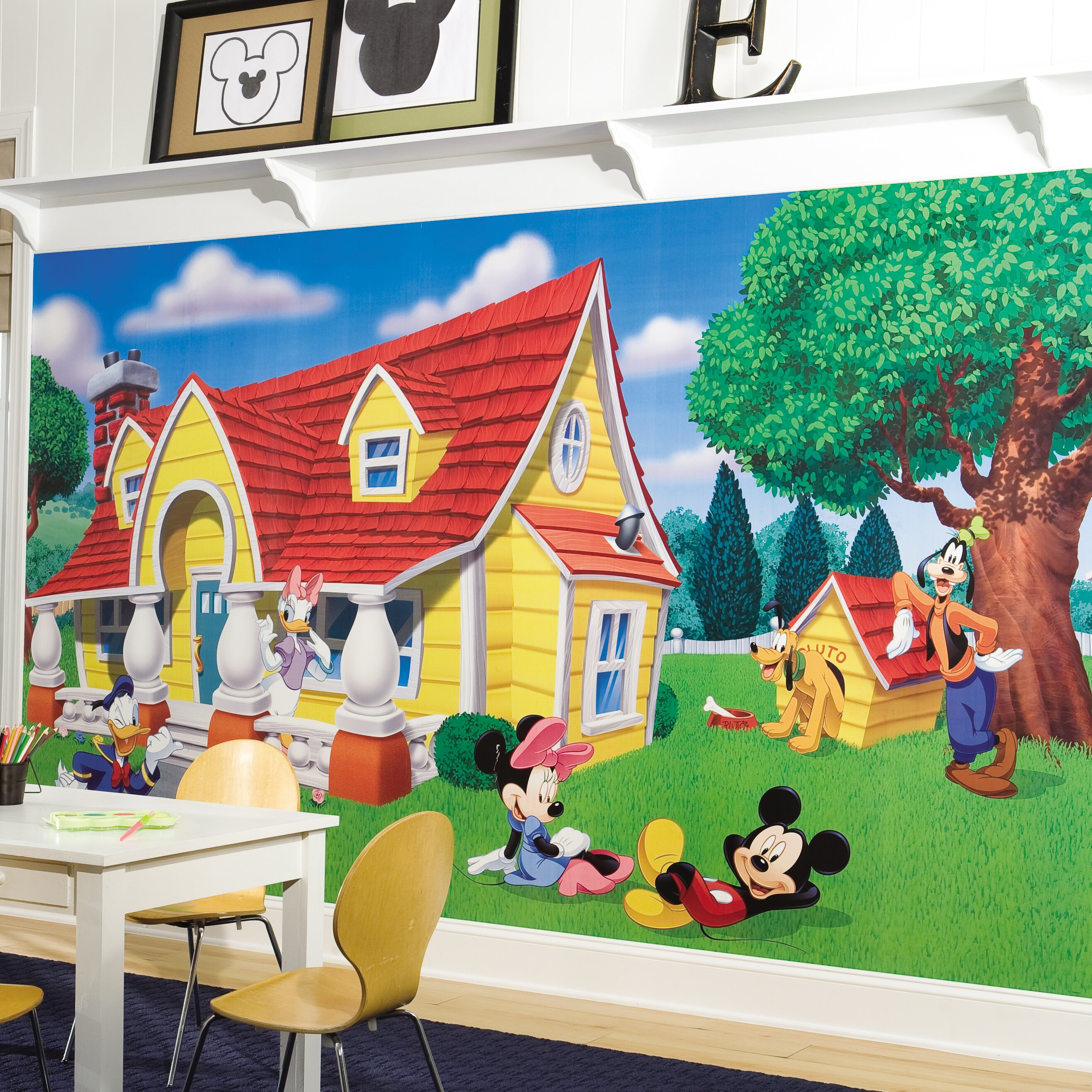mickey tiles amazing deluxe home design mickey mouse friends you ll love wayfair