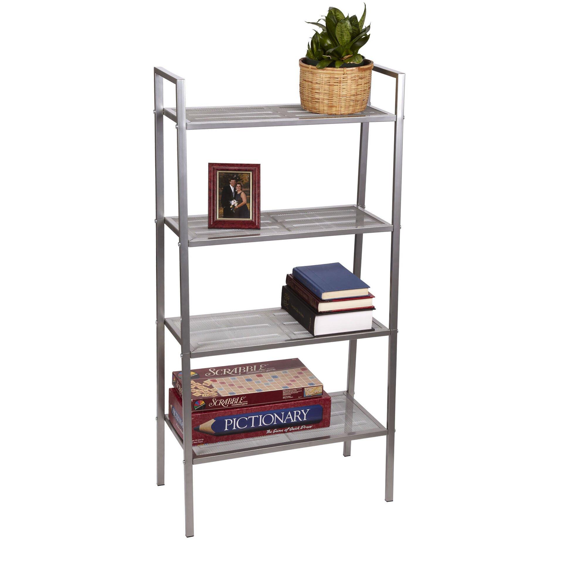 Household Essentials Free Standing 46 5 H Four Shelf