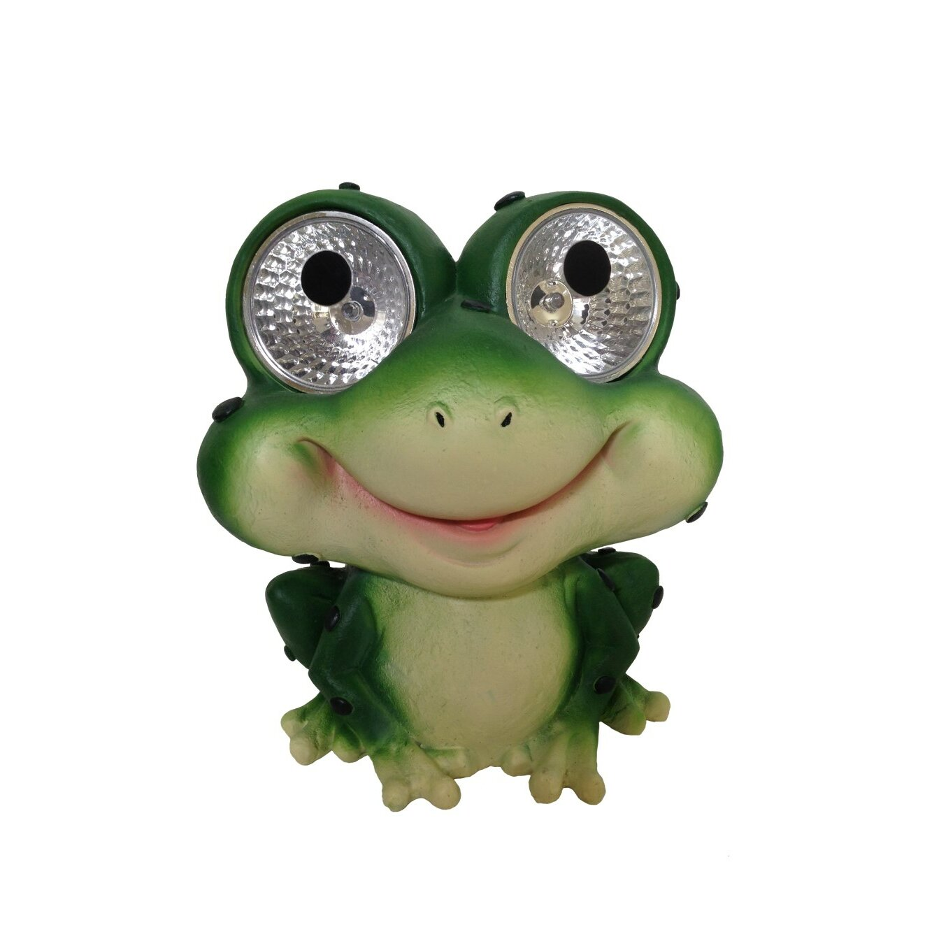 Smart Solar Garden Pals Solar Frog Light Statue Reviews Wayfair