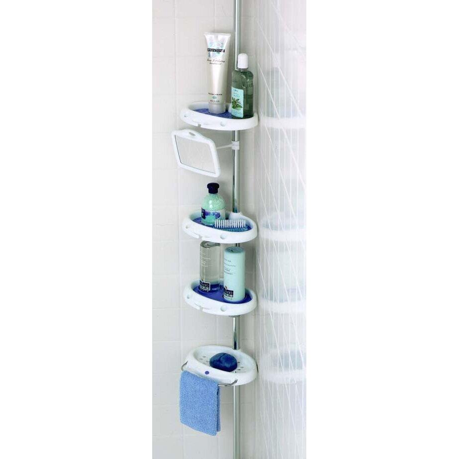 Zenith Corner Shower Caddy & Reviews   Wayfair