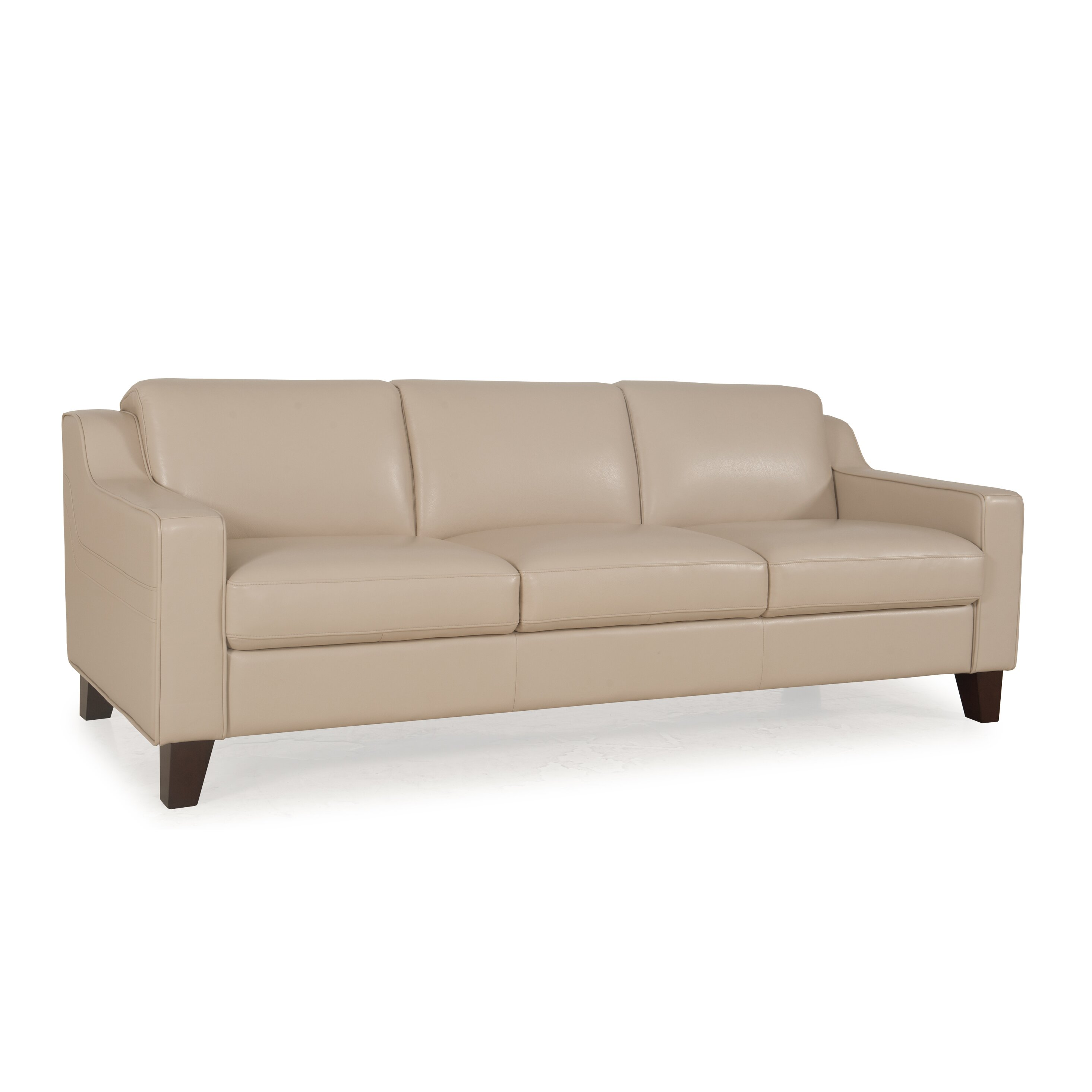 Moroni Cora Full Top Grain Leather Sofa Wayfair Ca