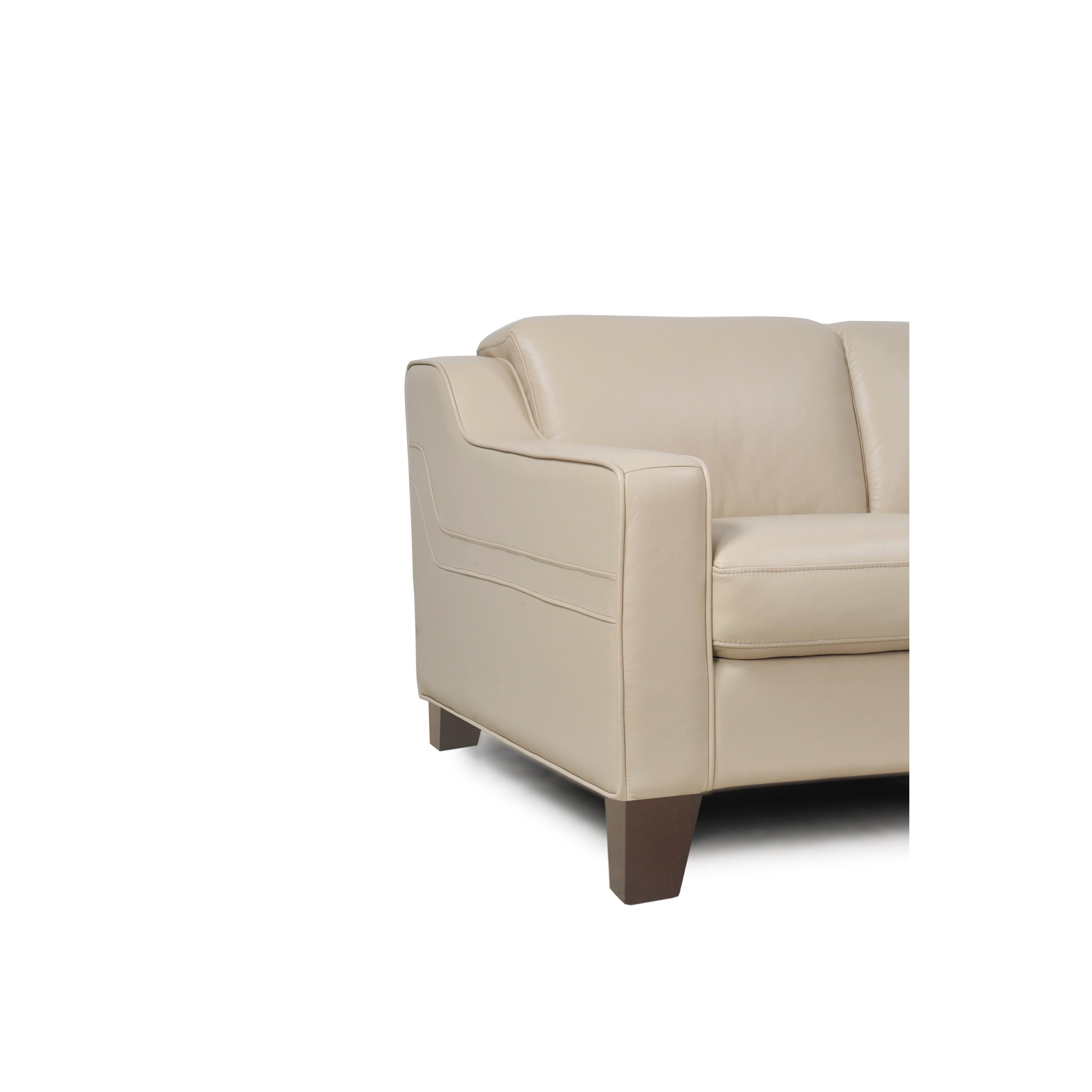 Moroni Cora Full Top Grain Leather Sofa
