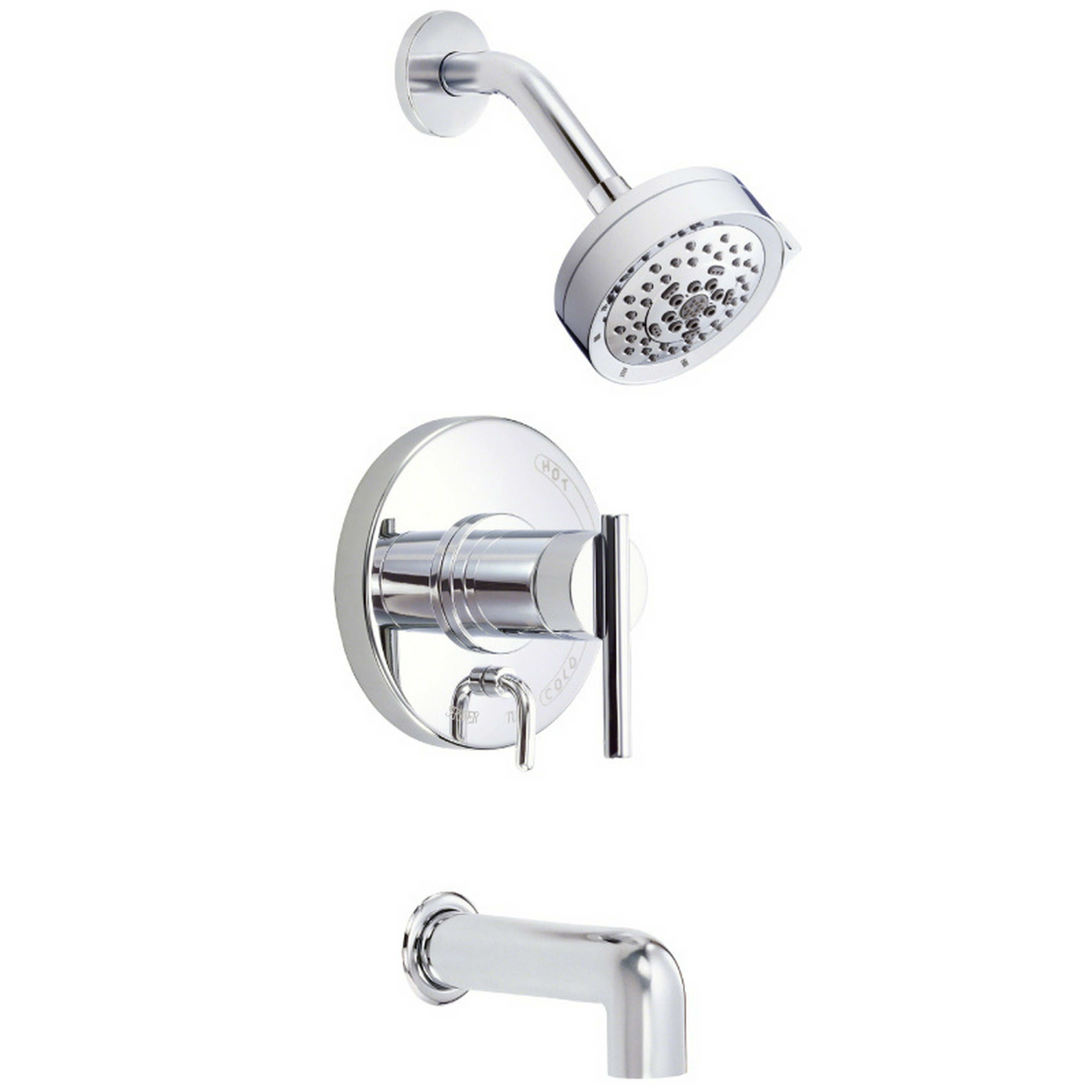 Danze Bathroom Accessories Danze Parma Tub And Shower Faucet Reviews Wayfair