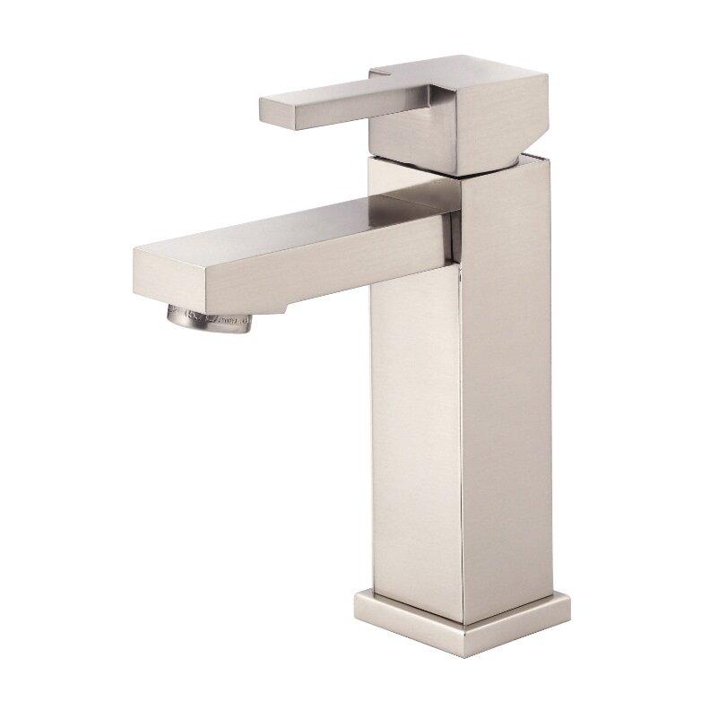 Danze reg  Reef Single Handle Single Hole Bathroom Faucet. Danze Reef Single Handle Single Hole Bathroom Faucet   Reviews