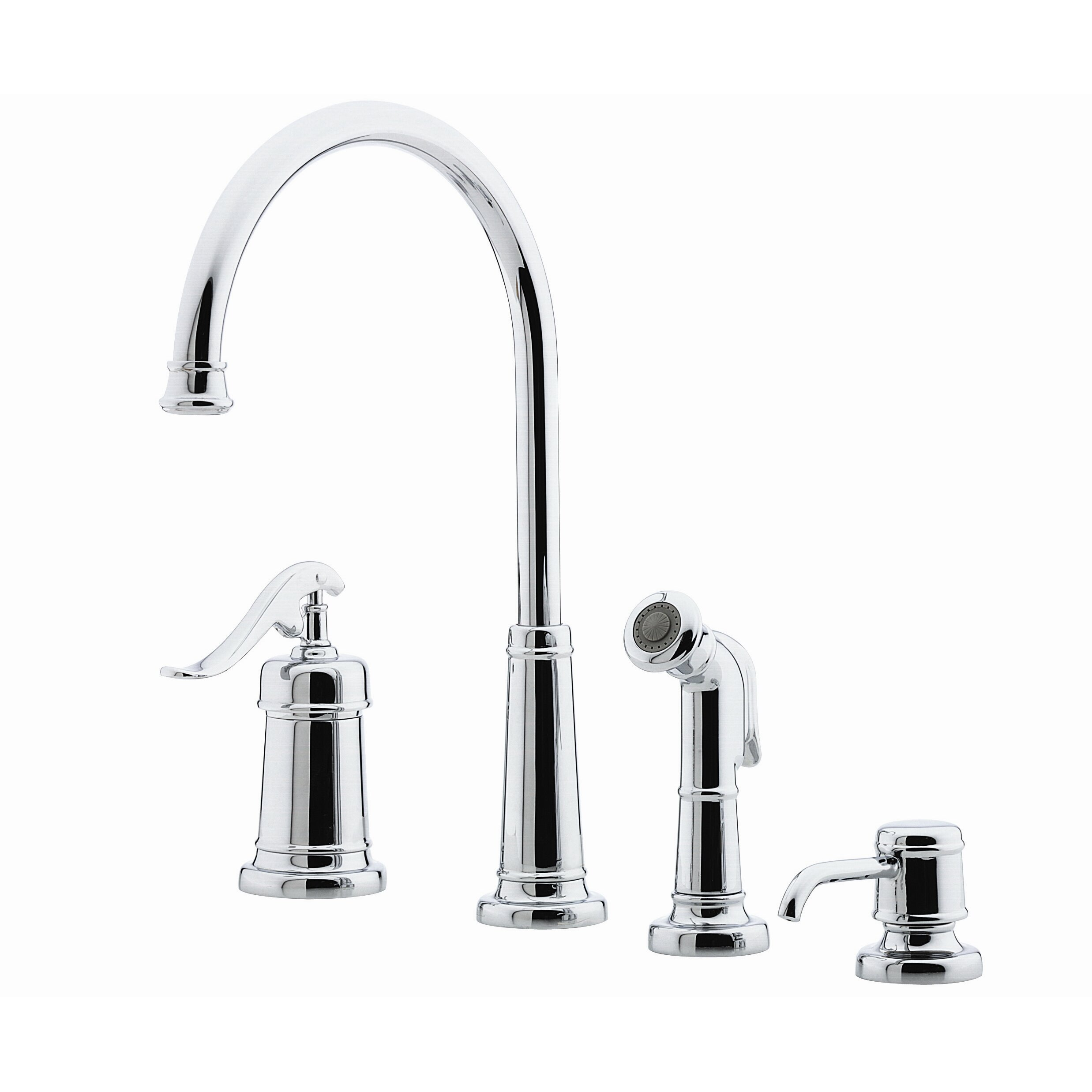 Pfister Kitchen Faucet Pfister Ashfield Single Handle Deck Mounted Kitchen Faucet With