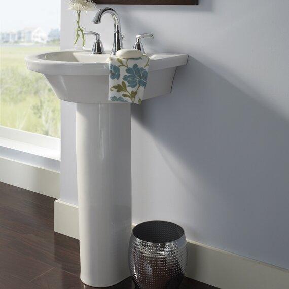 Sink Wrap For Pedestal Sink : Pedestal+Leg+for+Tropic+and+Boulevard+Pedestal+SinksAmerican-Standard ...