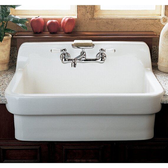 country kitchen sink american standard 30 quot x 22 quot country kitchen sink amp reviews 2891