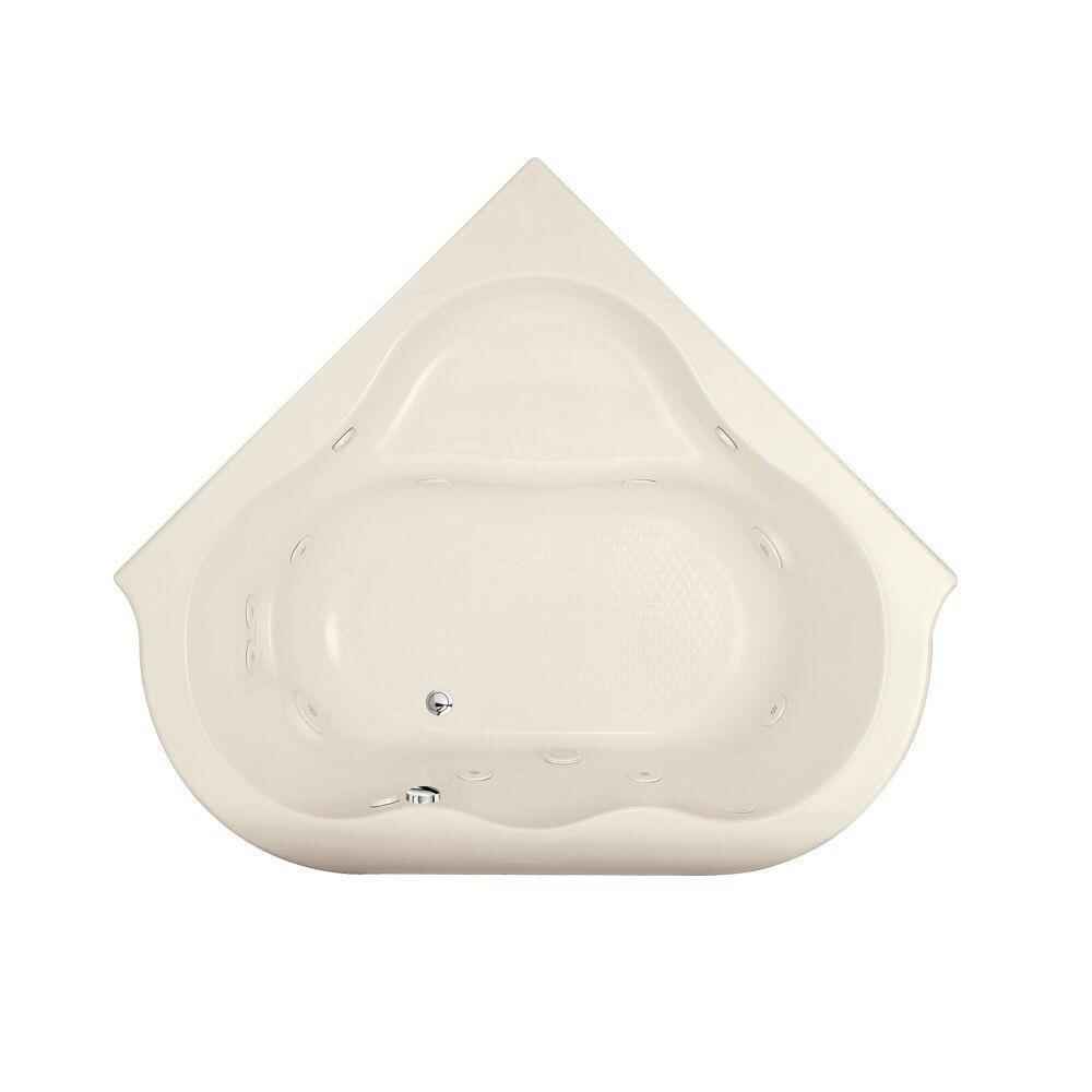 Corner Bathtubs Youll Love Wayfair - Corner garden tub dimensions