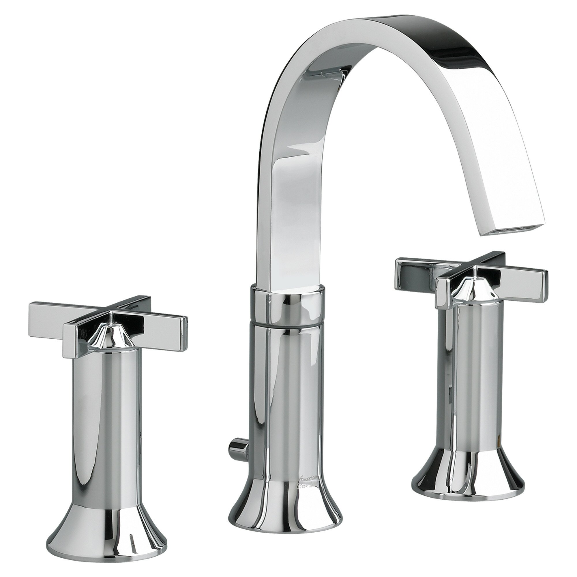 American Standard Berwick Widespread Bathroom Faucet with Double Cross Handles. American Standard Berwick Widespread Bathroom Faucet with Double