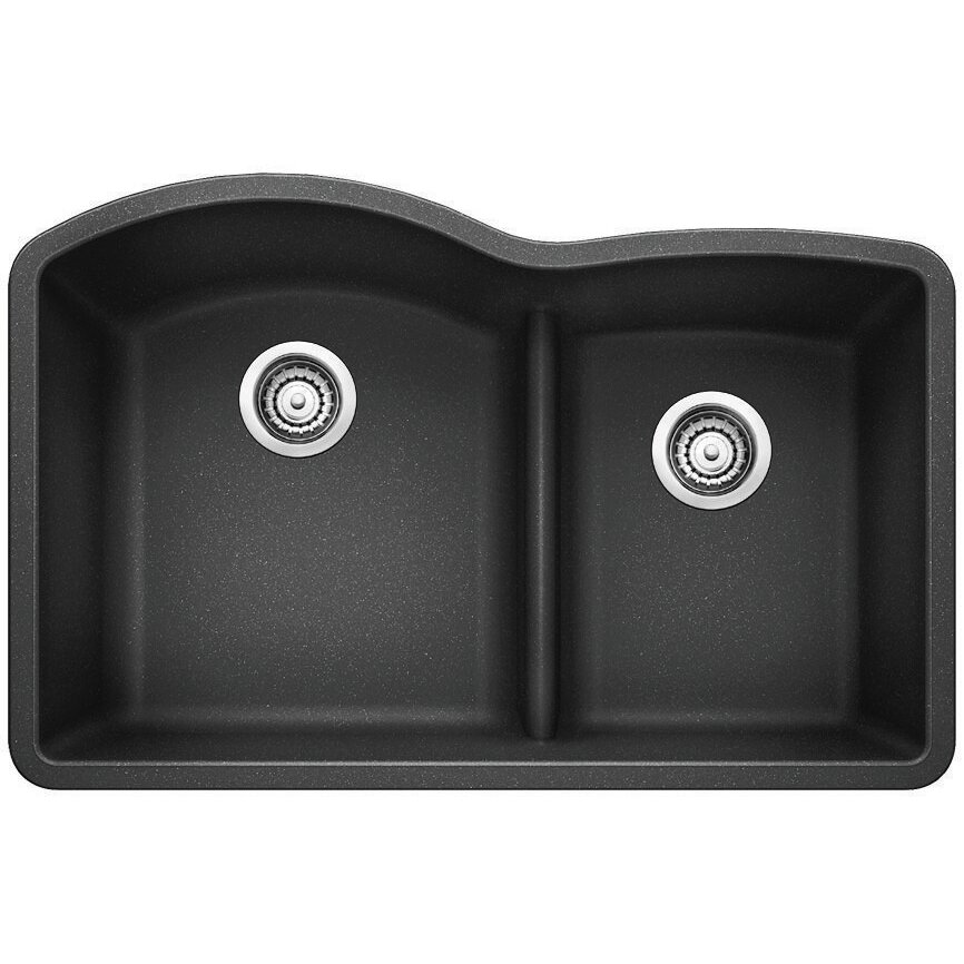 Blanco Top Mount Kitchen Sinks : Top Mount Kitchen Sink With Low Divider Bhdreams.com