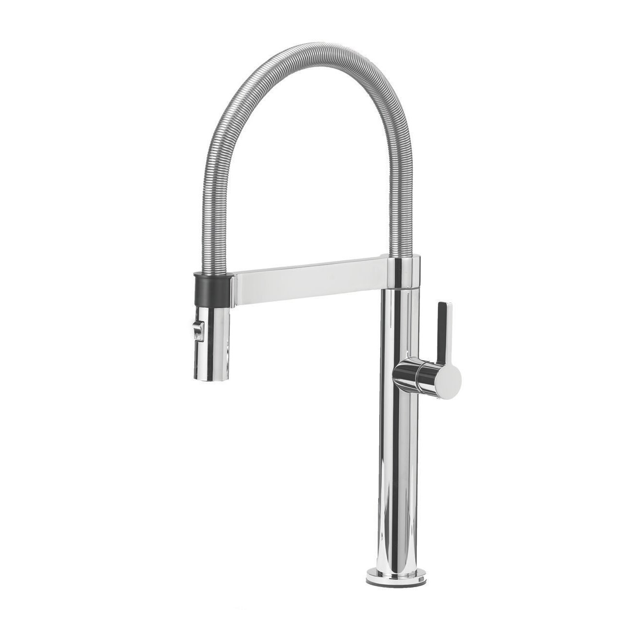 Deck Mount Kitchen Faucet Blanco Culina Single Handle Deck Mounted Kitchen Faucet With Pull