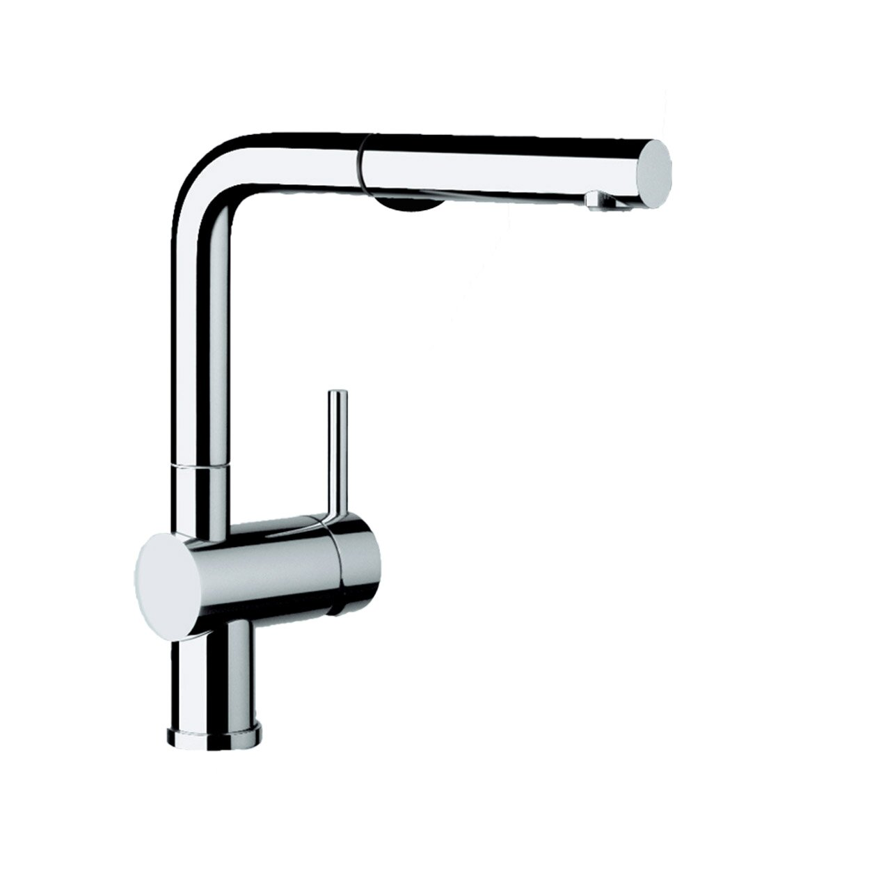 Kitchen Pull Out Faucet Blanco Linus Single Handle Deck Mounted Kitchen Faucet With Dual