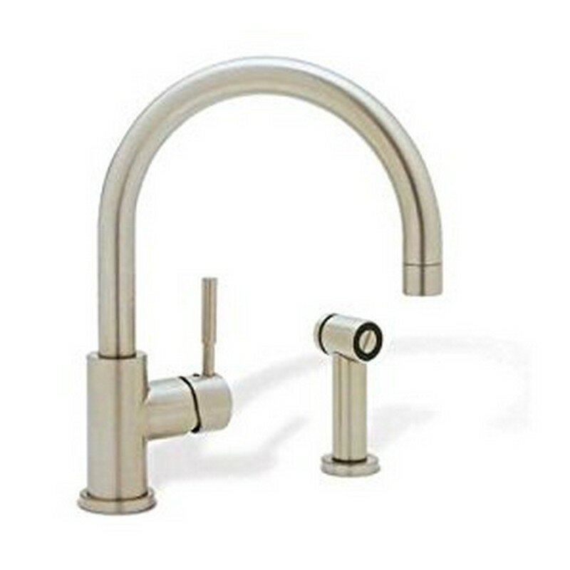 Blanco Kitchen Faucet Reviews : Blanco Meridian Single Handle Deck Mounted Kitchen Faucet with Side ...