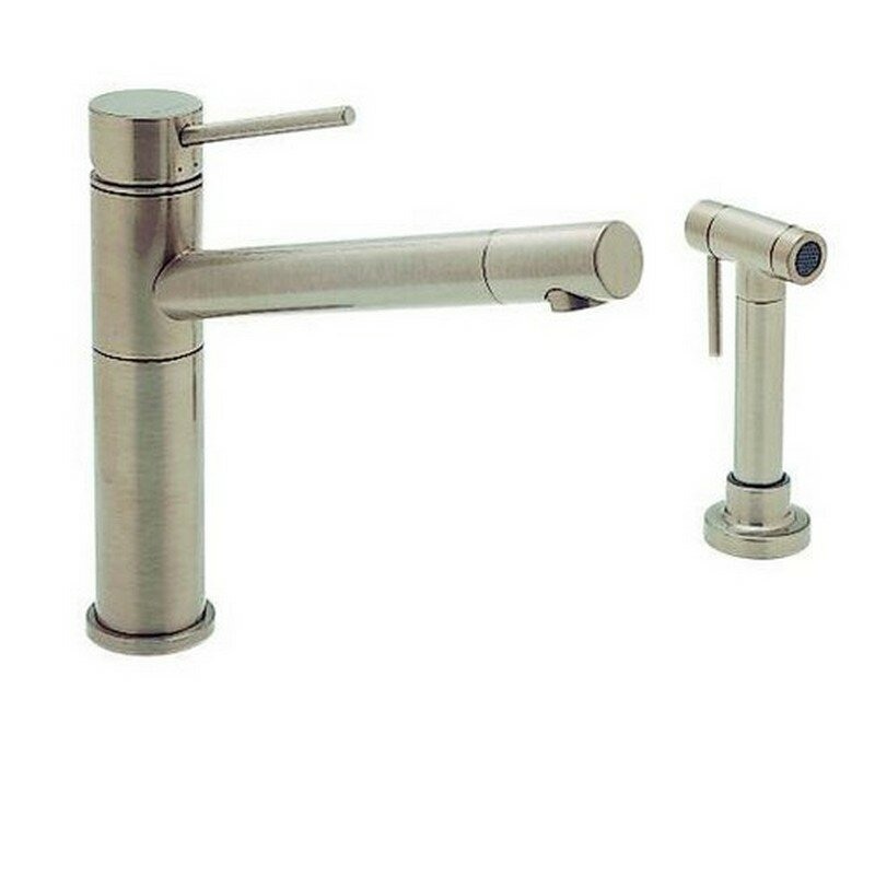 Blanco Kitchen Faucet Reviews : Blanco Alta Single Handle Deck Mounted Kitchen Faucet with Side Spray ...