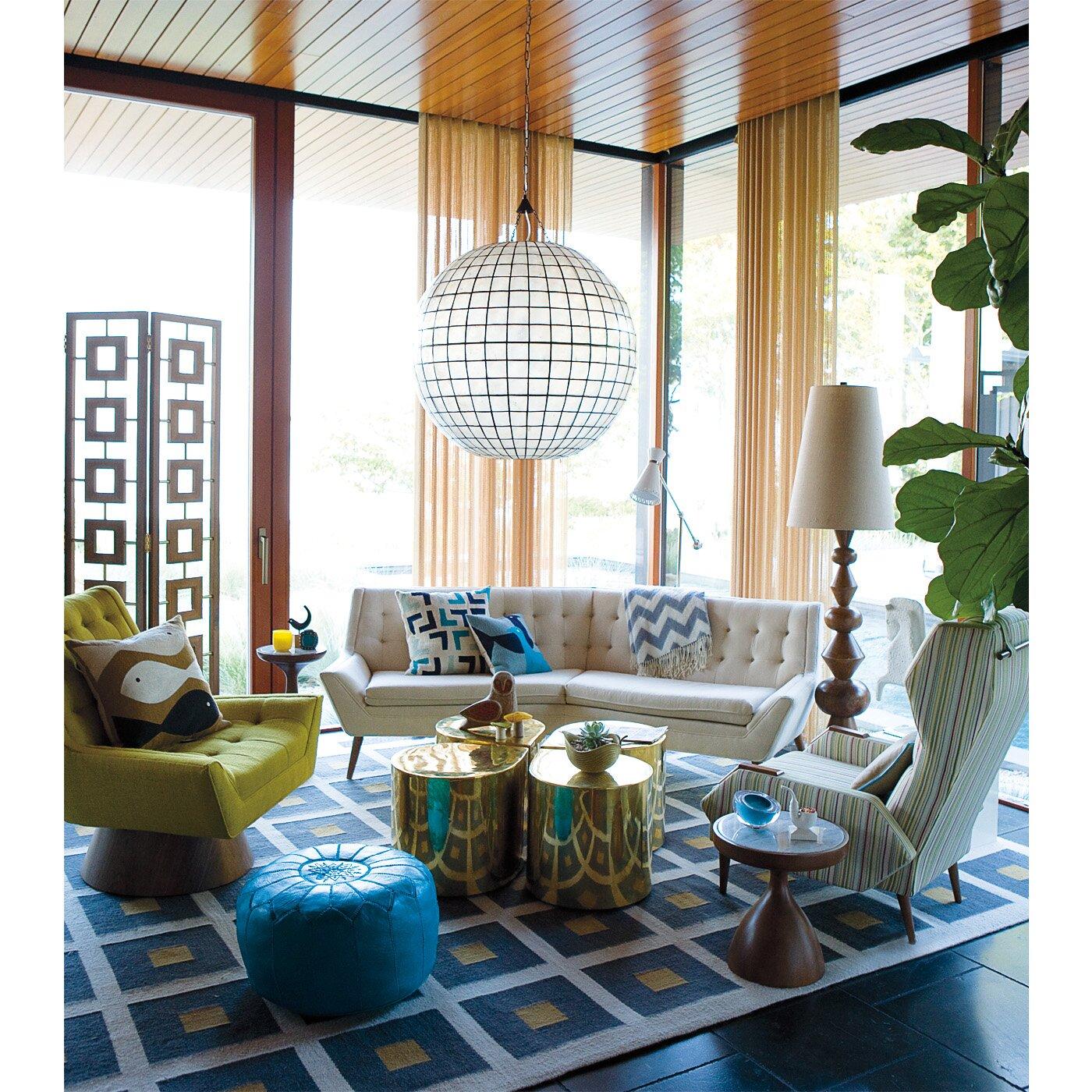 jonathan adler buenos aires short end table - Jonathan Adler Living Room