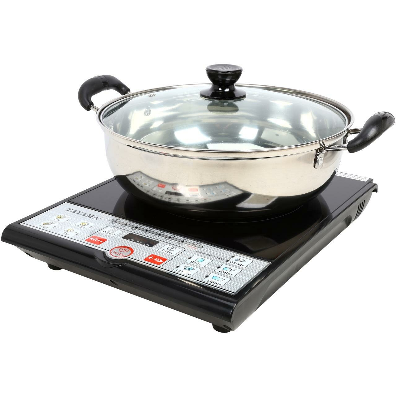 Pot For Induction Cooker ~ Tayama induction cooker with cooking pot reviews wayfair