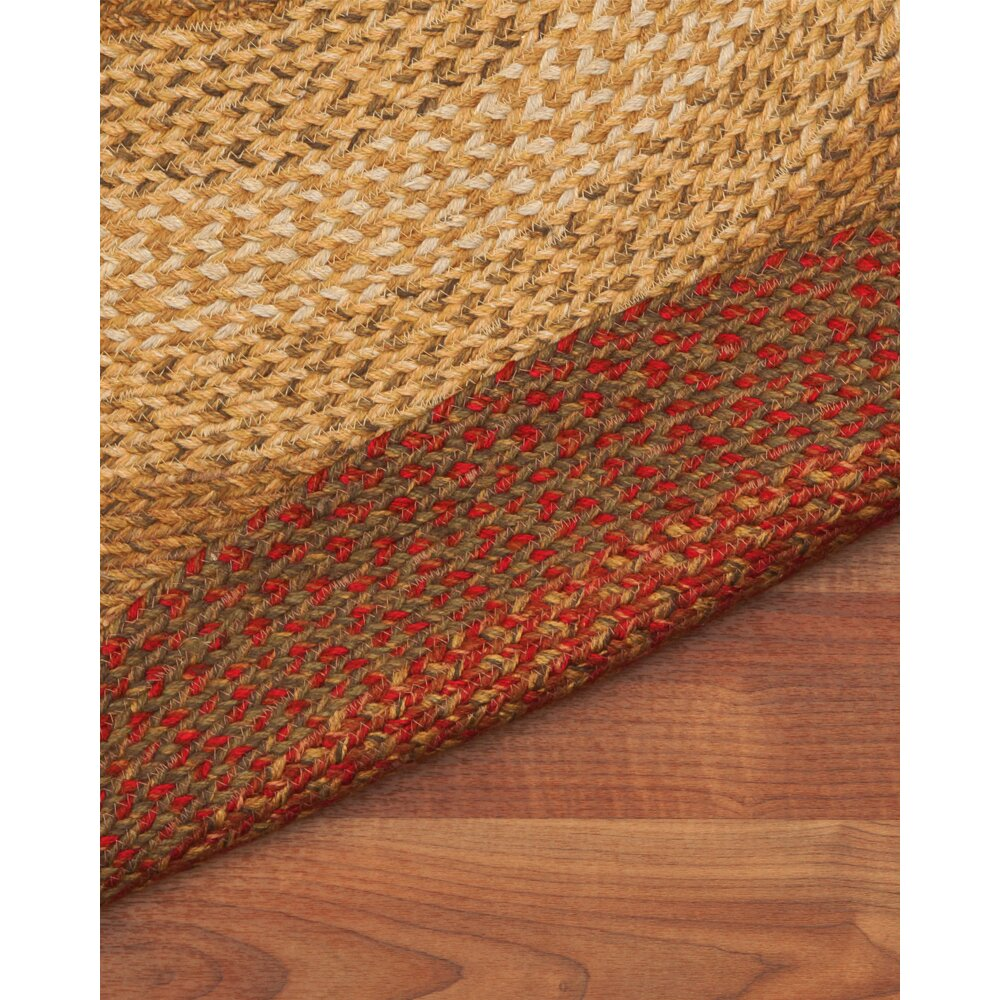 Natural Area Rugs Estilo Oval 100% Natural Jute Hand