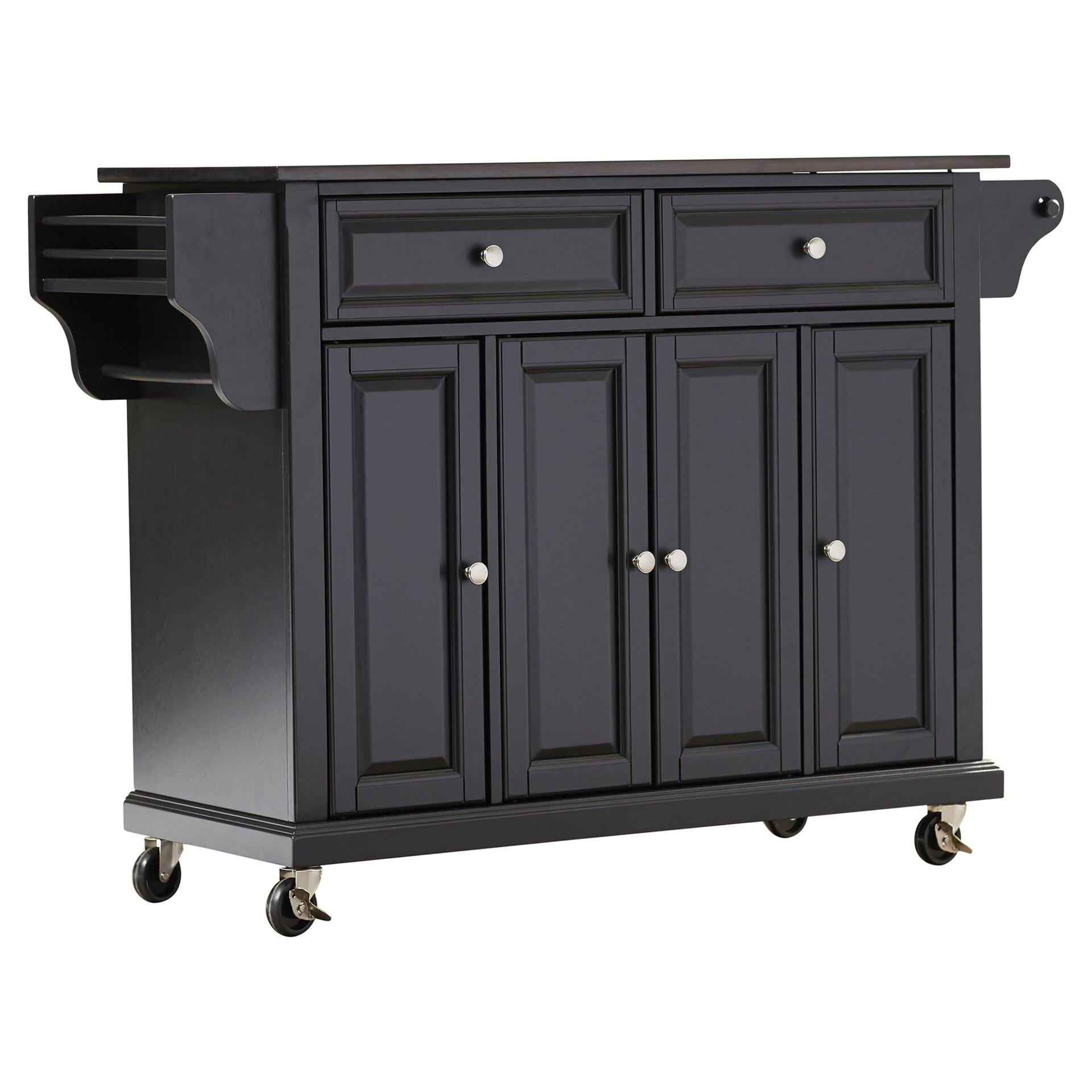 black granite top kitchen island crosley lafayette kitchen island with solid black granite 7877