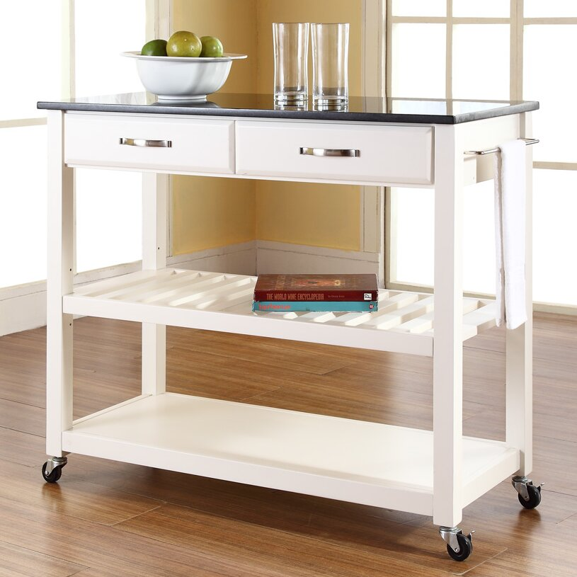 Crosley Kitchen Island: Crosley Kitchen Island With Granite Top & Reviews